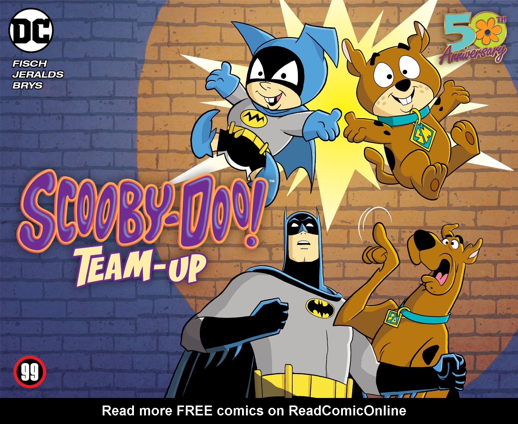 Scooby-Doo! Team-Up issue 99 - Page 1