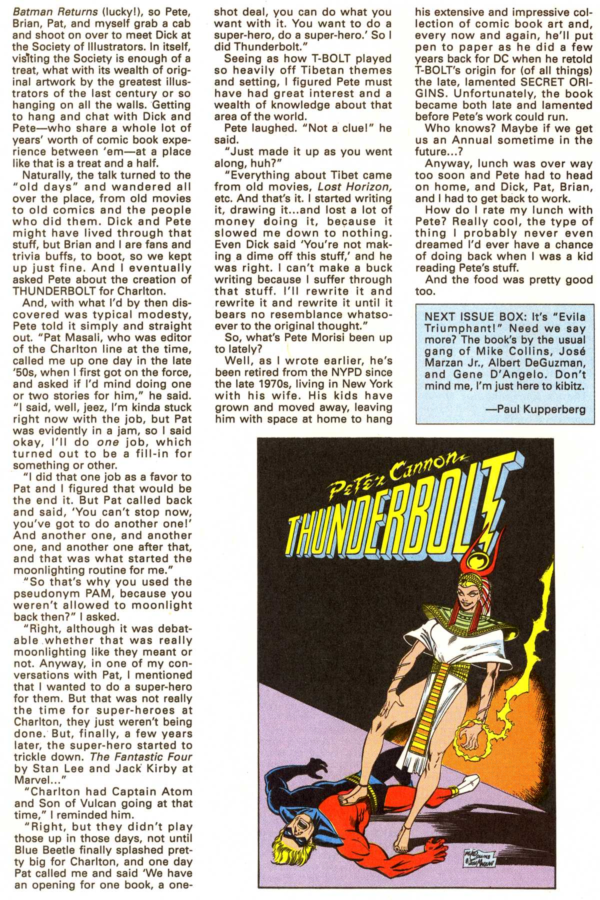 Read online Peter Cannon--Thunderbolt (1992) comic -  Issue #3 - 25