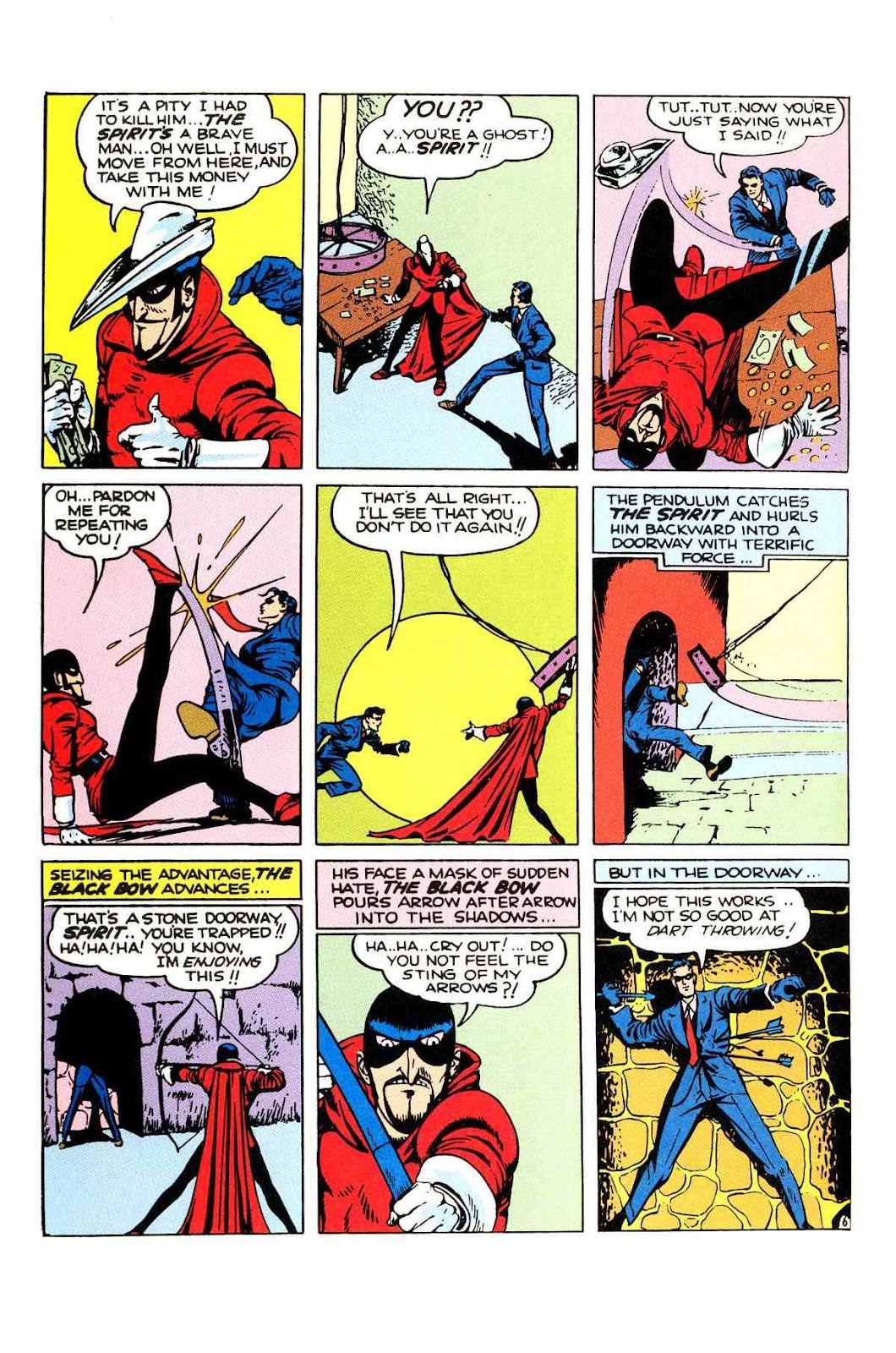 Read online Will Eisner's The Spirit Archives comic -  Issue # TPB 2 (Part 1) - 7