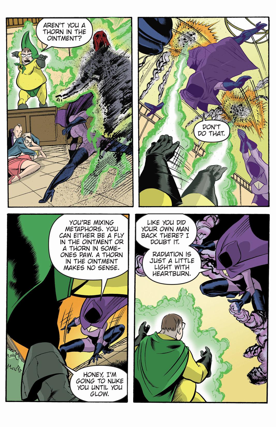 Read online SideChicks comic -  Issue #1 - 14