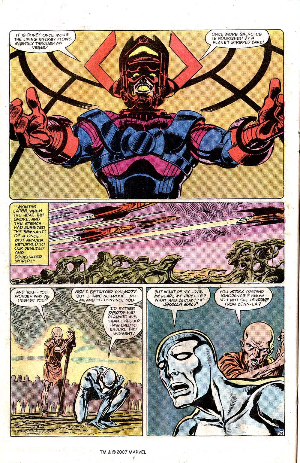 Read online Silver Surfer (1982) comic -  Issue # Full - 30