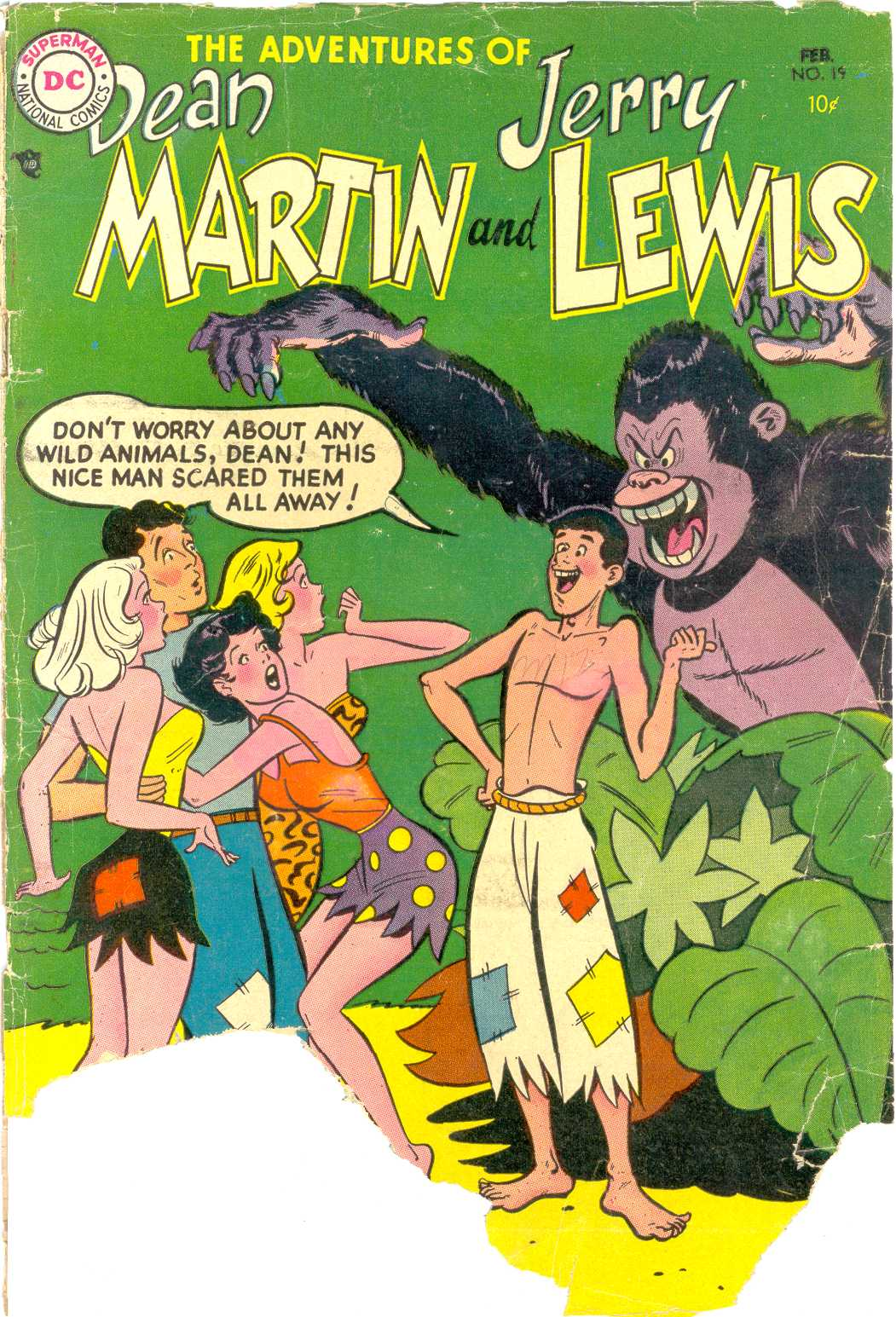 The Adventures of Dean Martin and Jerry Lewis 19 Page 1