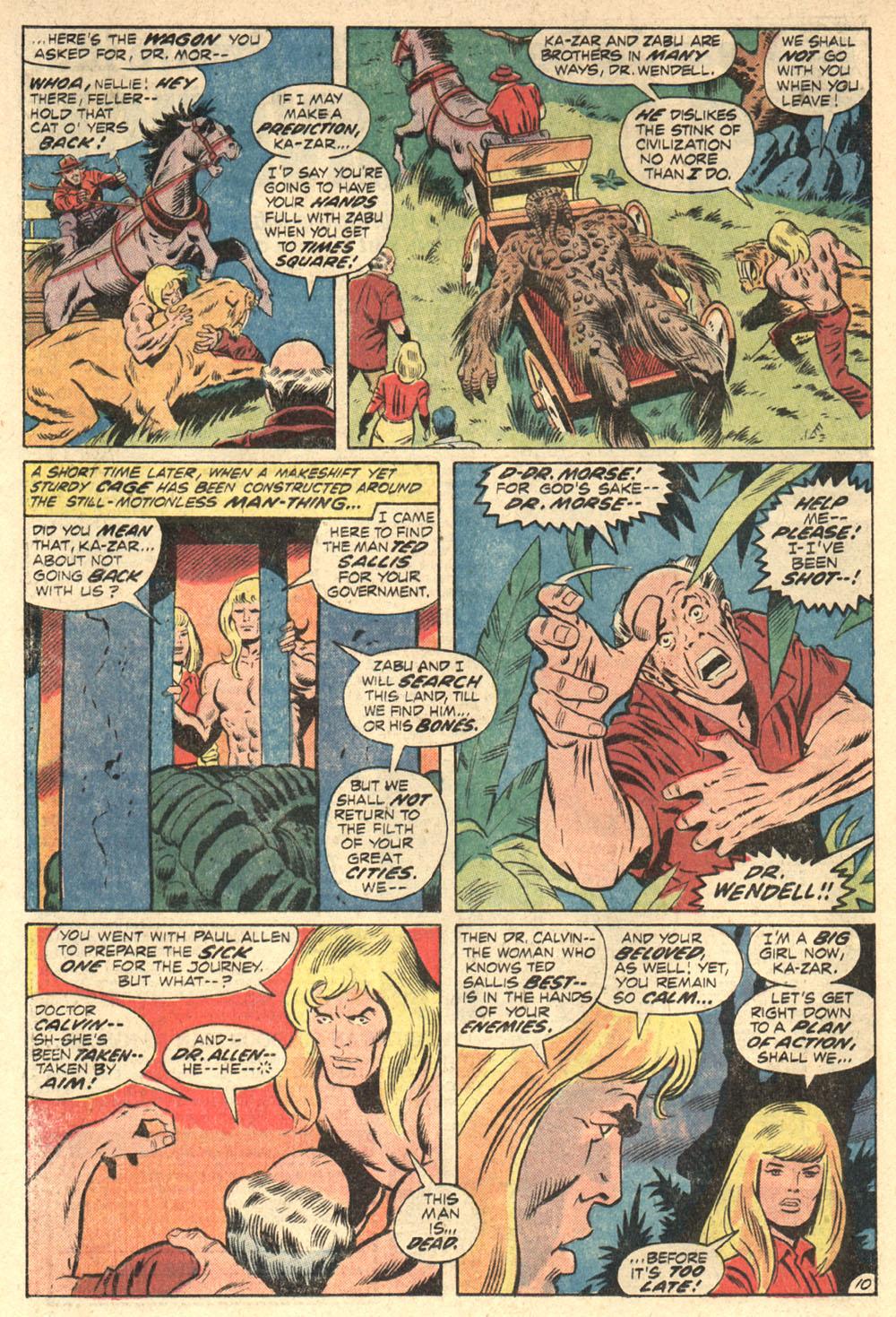 Read online Astonishing Tales (1970) comic -  Issue #13 - 11