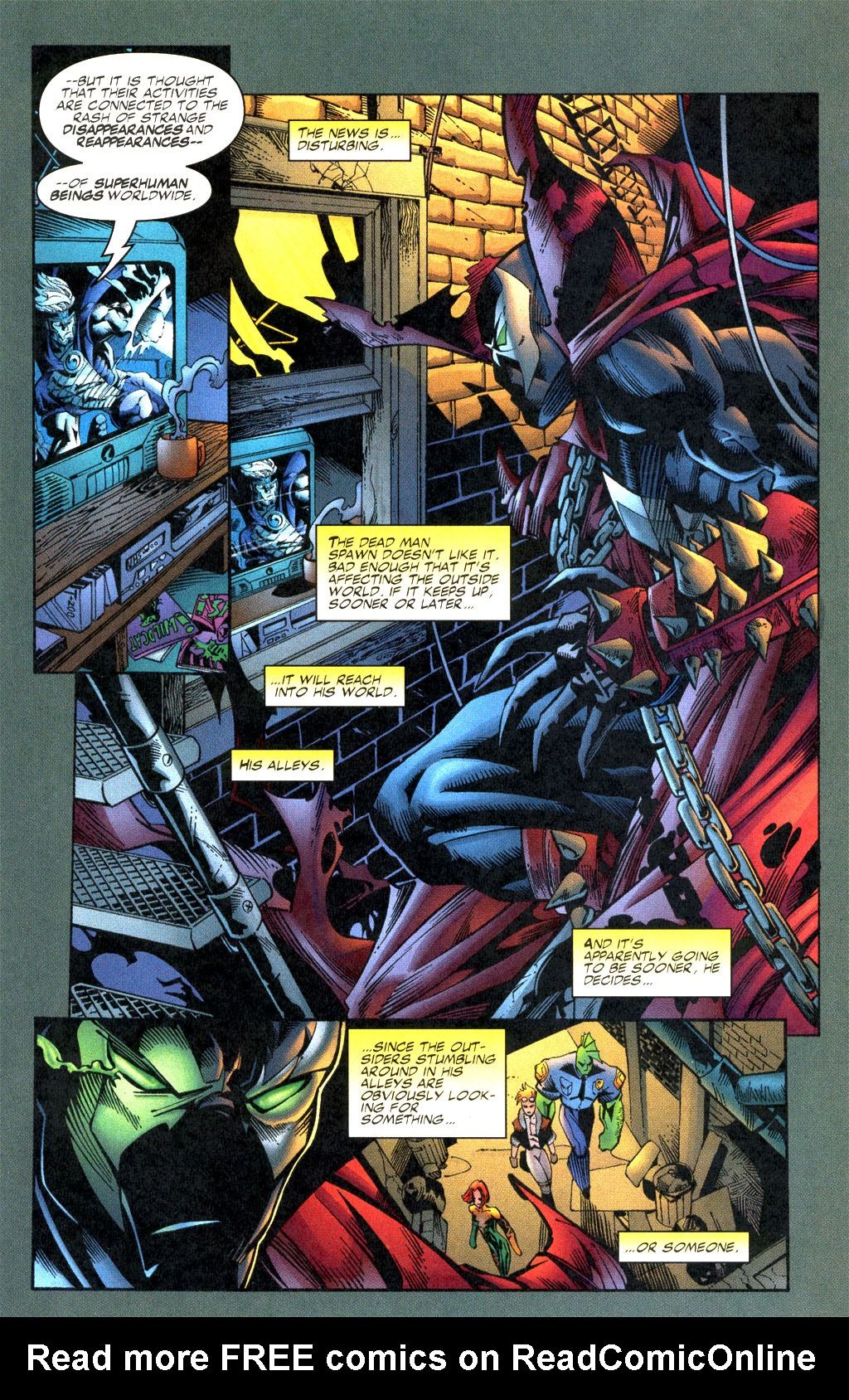 Read online Shattered Image comic -  Issue #2 - 20