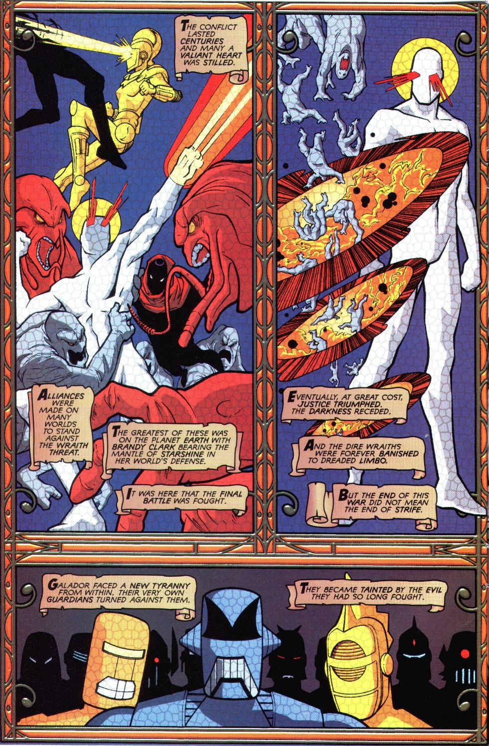Read online Spaceknights (2000) comic -  Issue #1 - 3