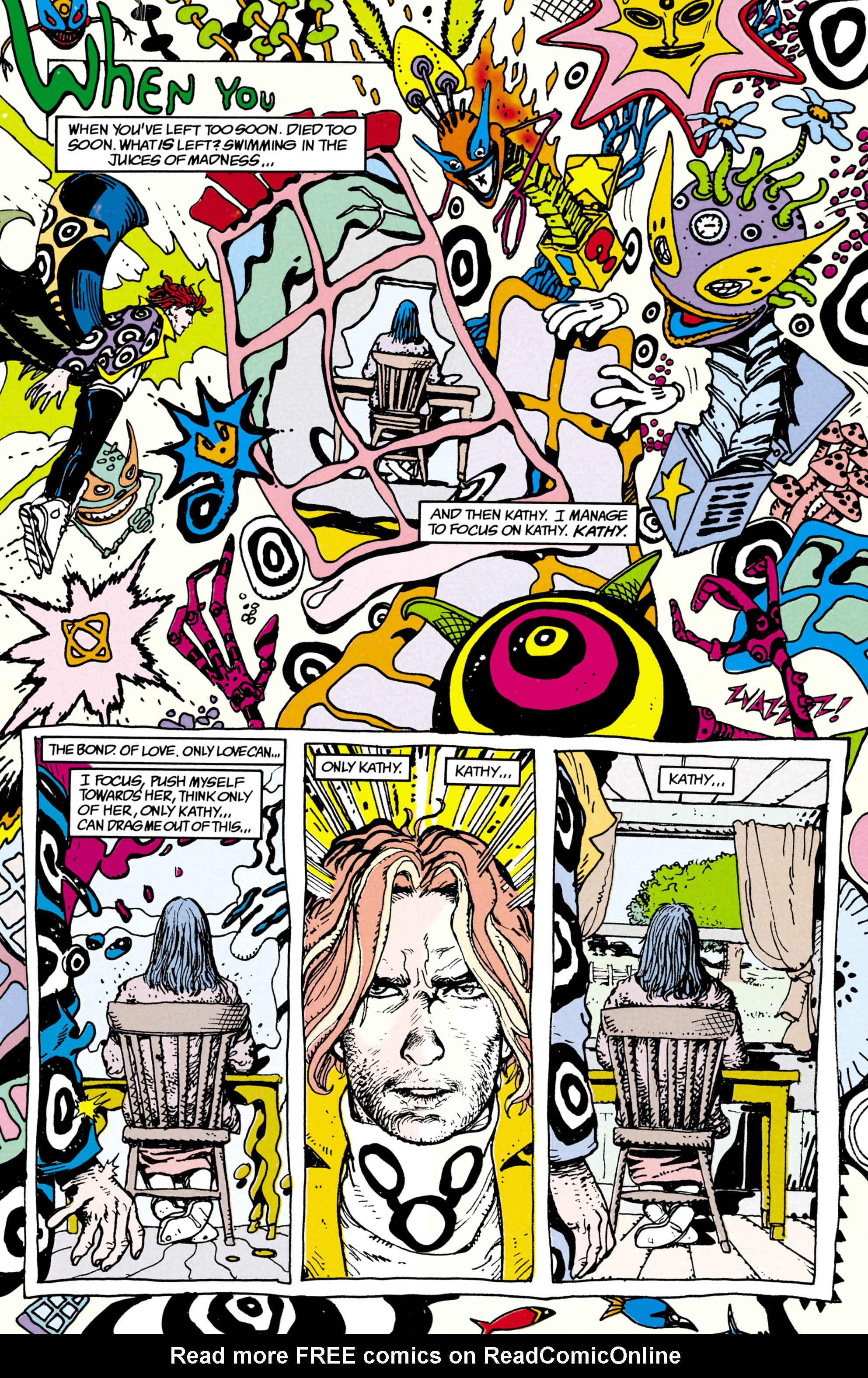 Read online Shade, the Changing Man comic -  Issue #22 - 24