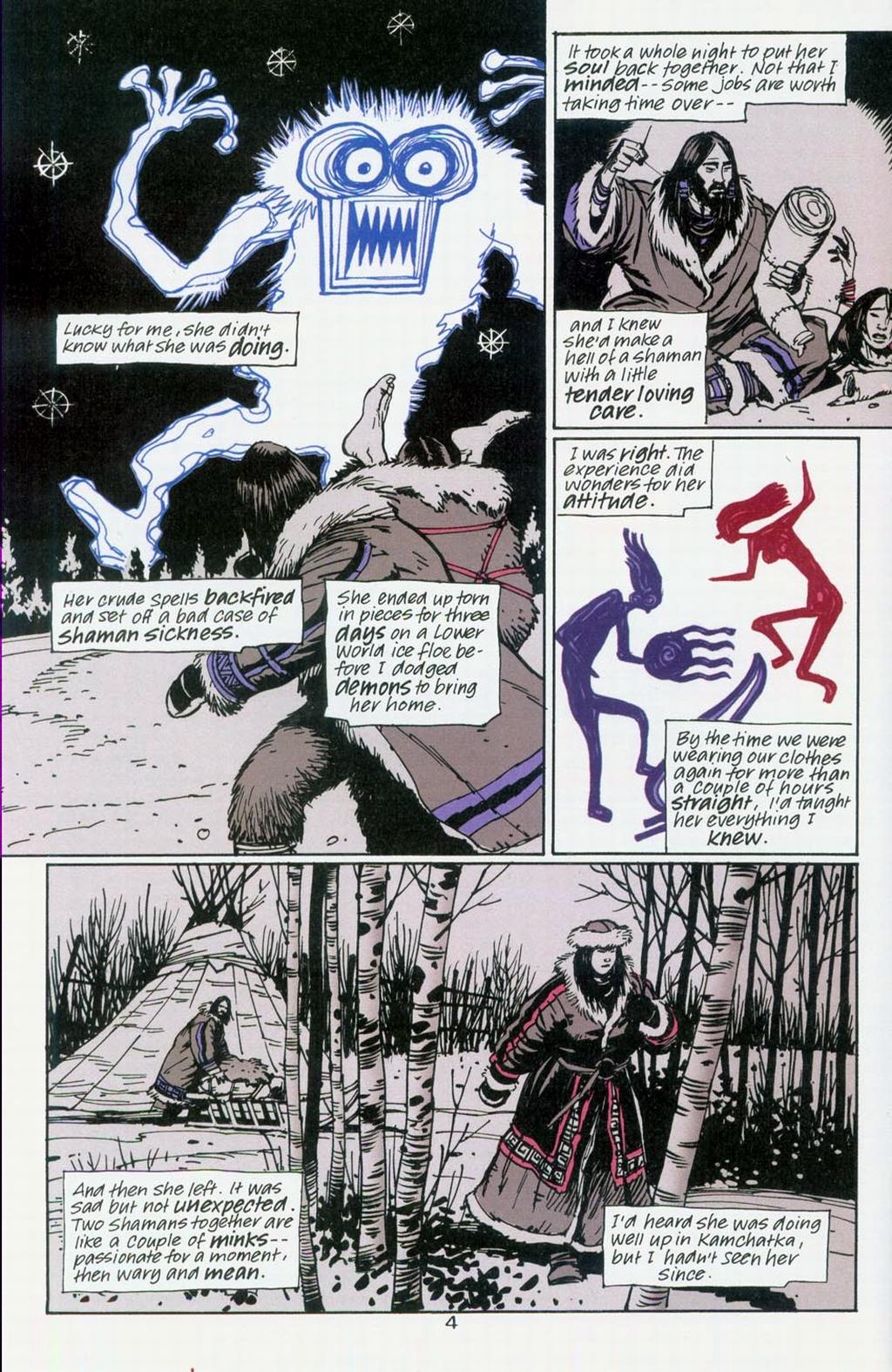 Muktuk Wolfsbreath: Hard-Boiled Shaman issue 1 - Page 4