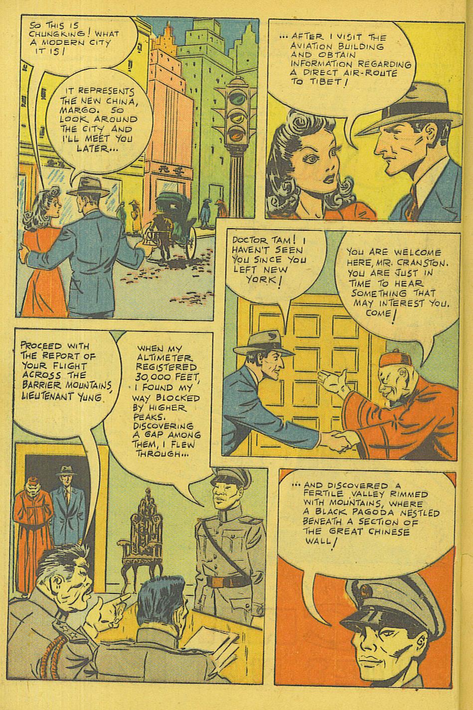 Read online Shadow Comics comic -  Issue #71 - 14