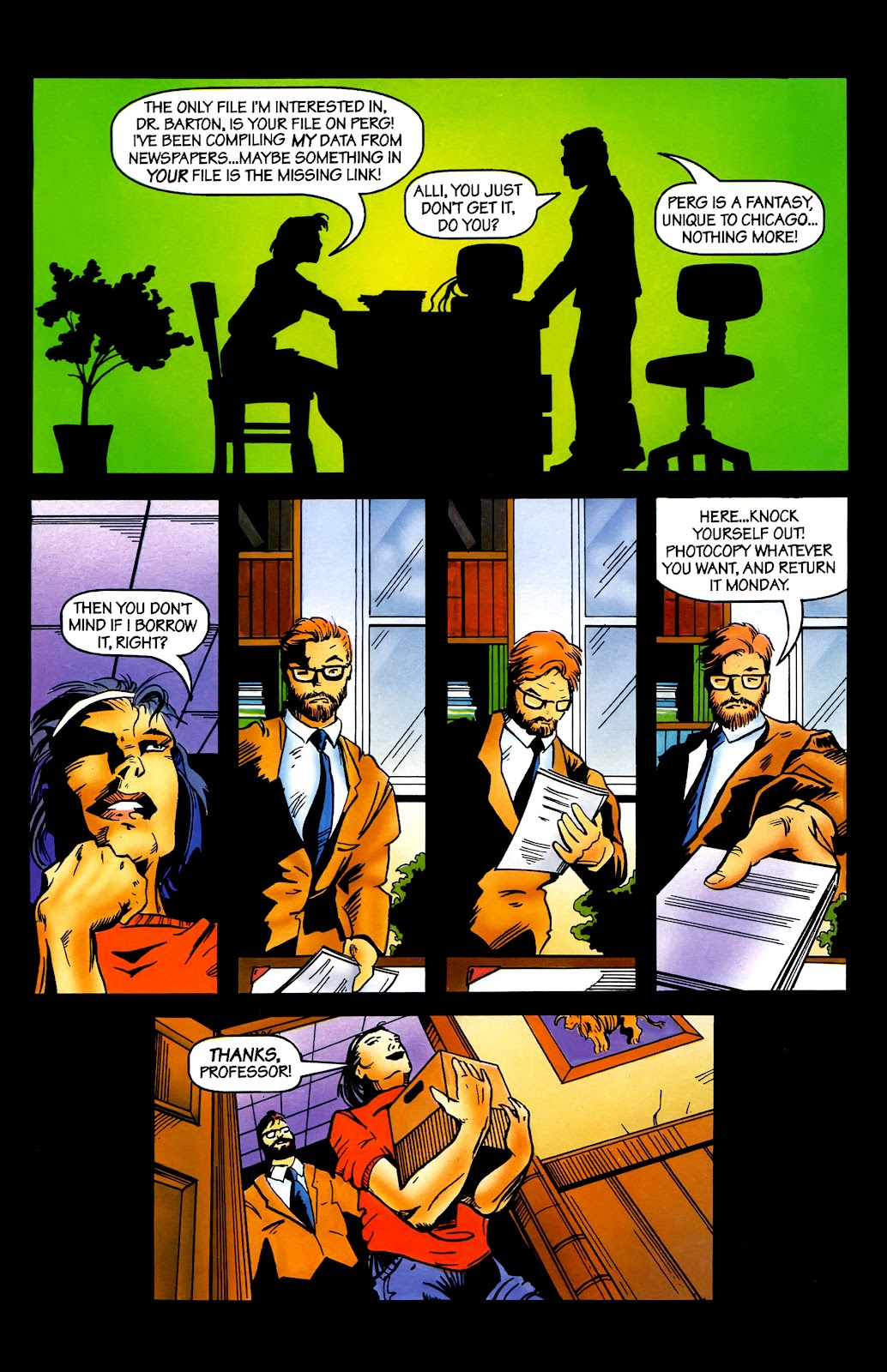 Read online Perg comic -  Issue #2 - 9