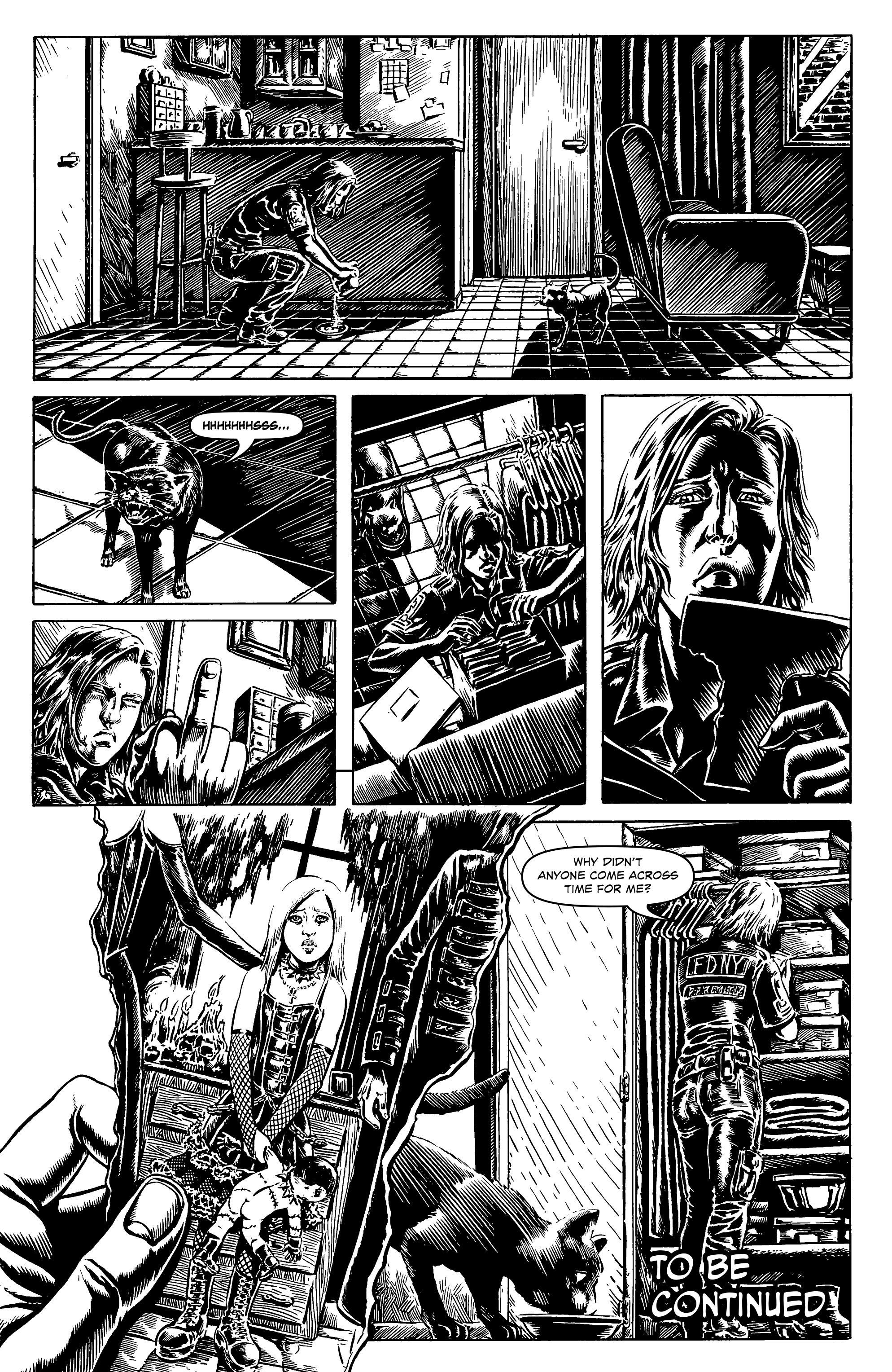 Read online Alan Moore's Cinema Purgatorio comic -  Issue #6 - 22