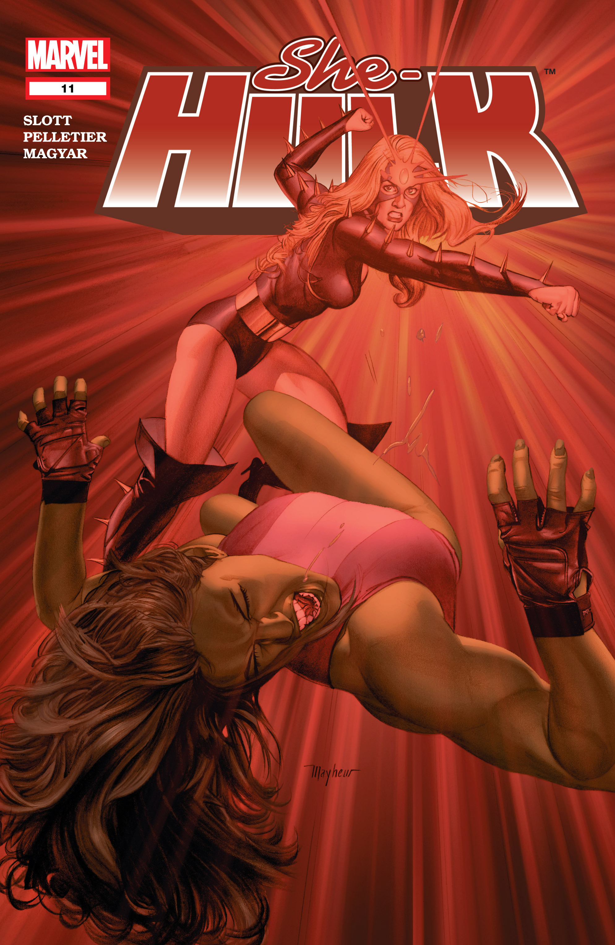 Read online She-Hulk (2004) comic -  Issue #11 - 1