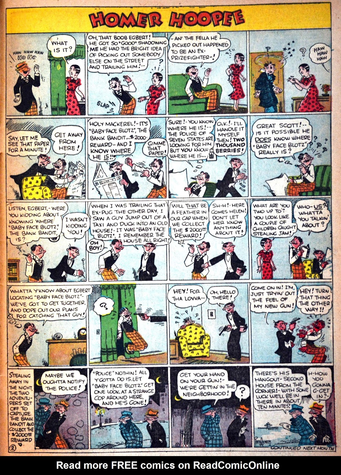 Read online Famous Funnies comic -  Issue #29 - 61