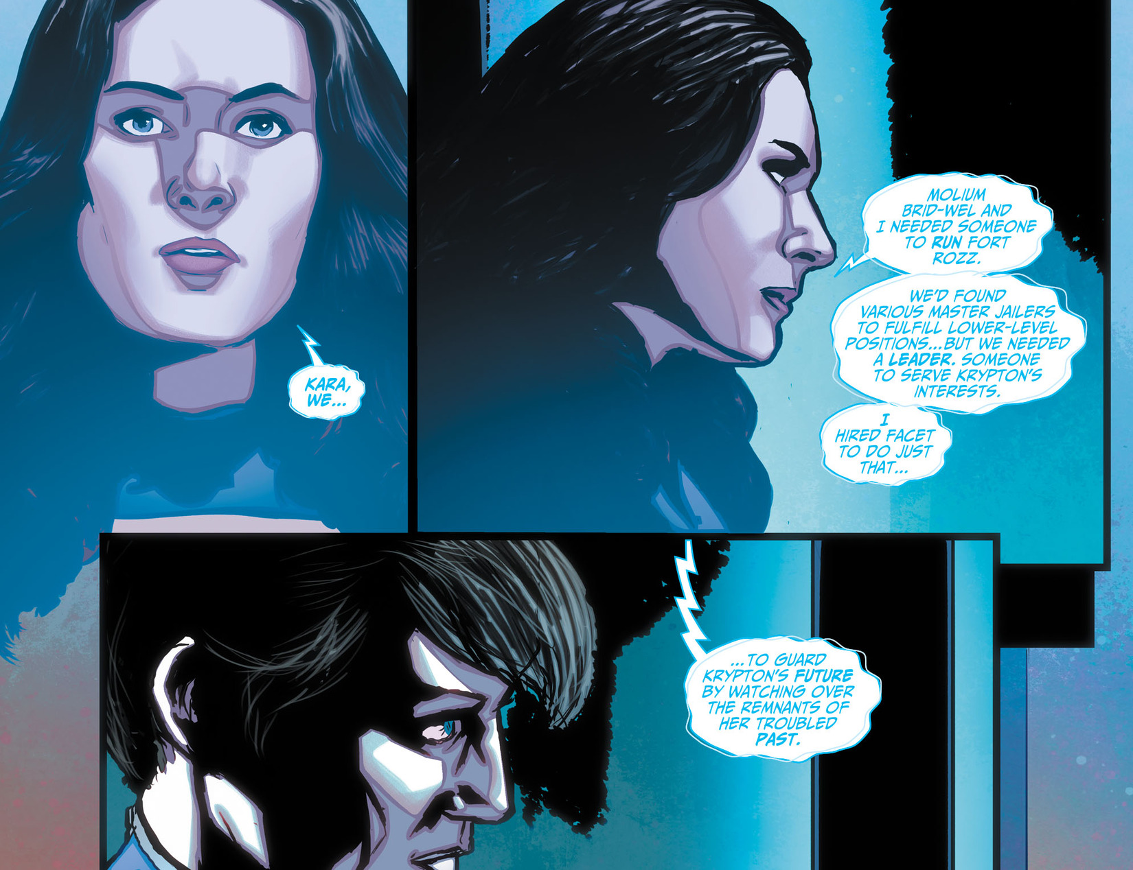 Read online Adventures of Supergirl comic -  Issue #10 - 15