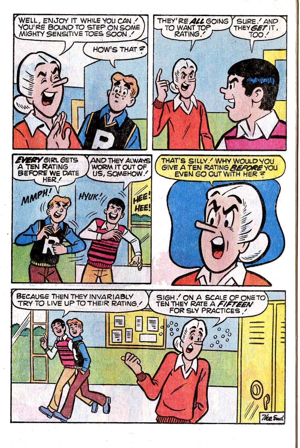 Read online Archie (1960) comic -  Issue #272 - 24