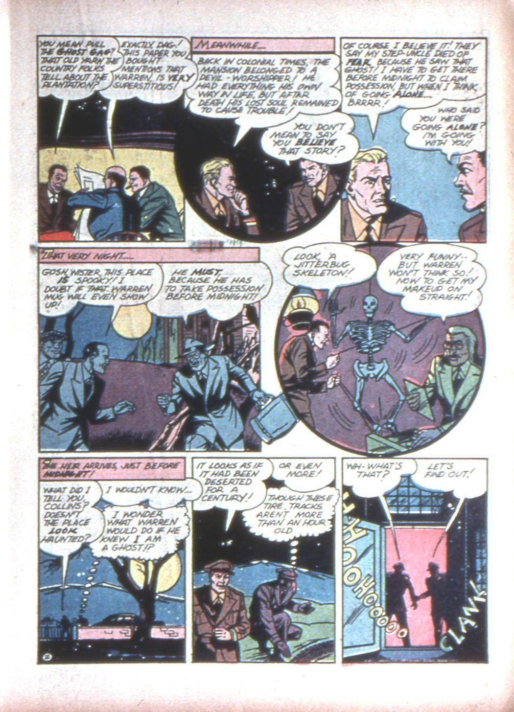 Read online Sensation (Mystery) Comics comic -  Issue #15 - 27