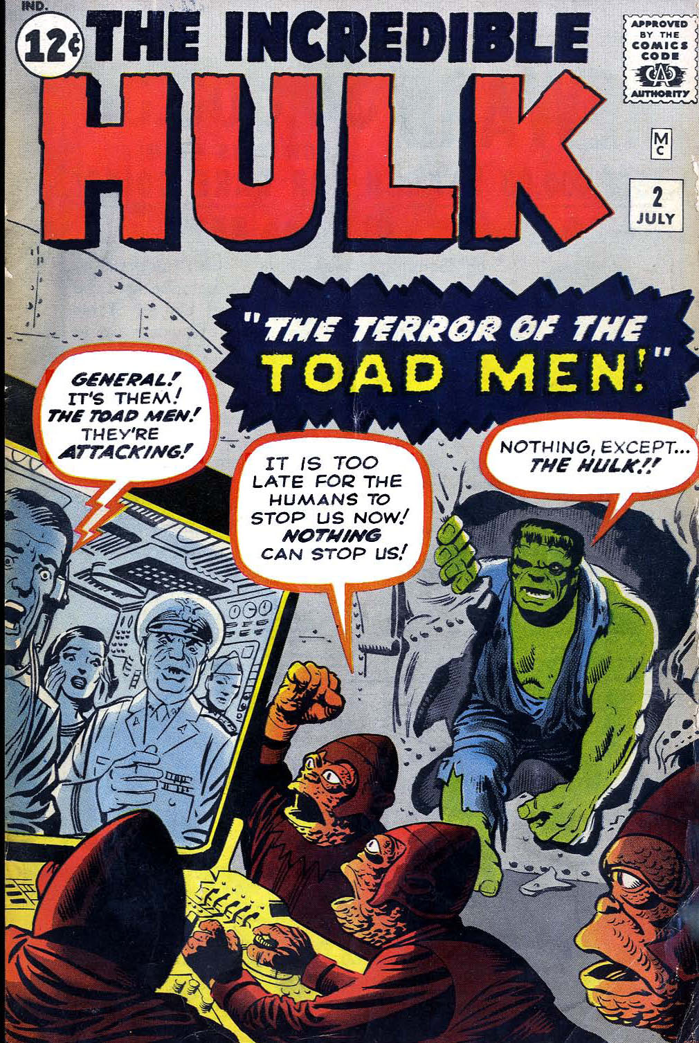 The Incredible Hulk (1962) issue 2 - Page 1