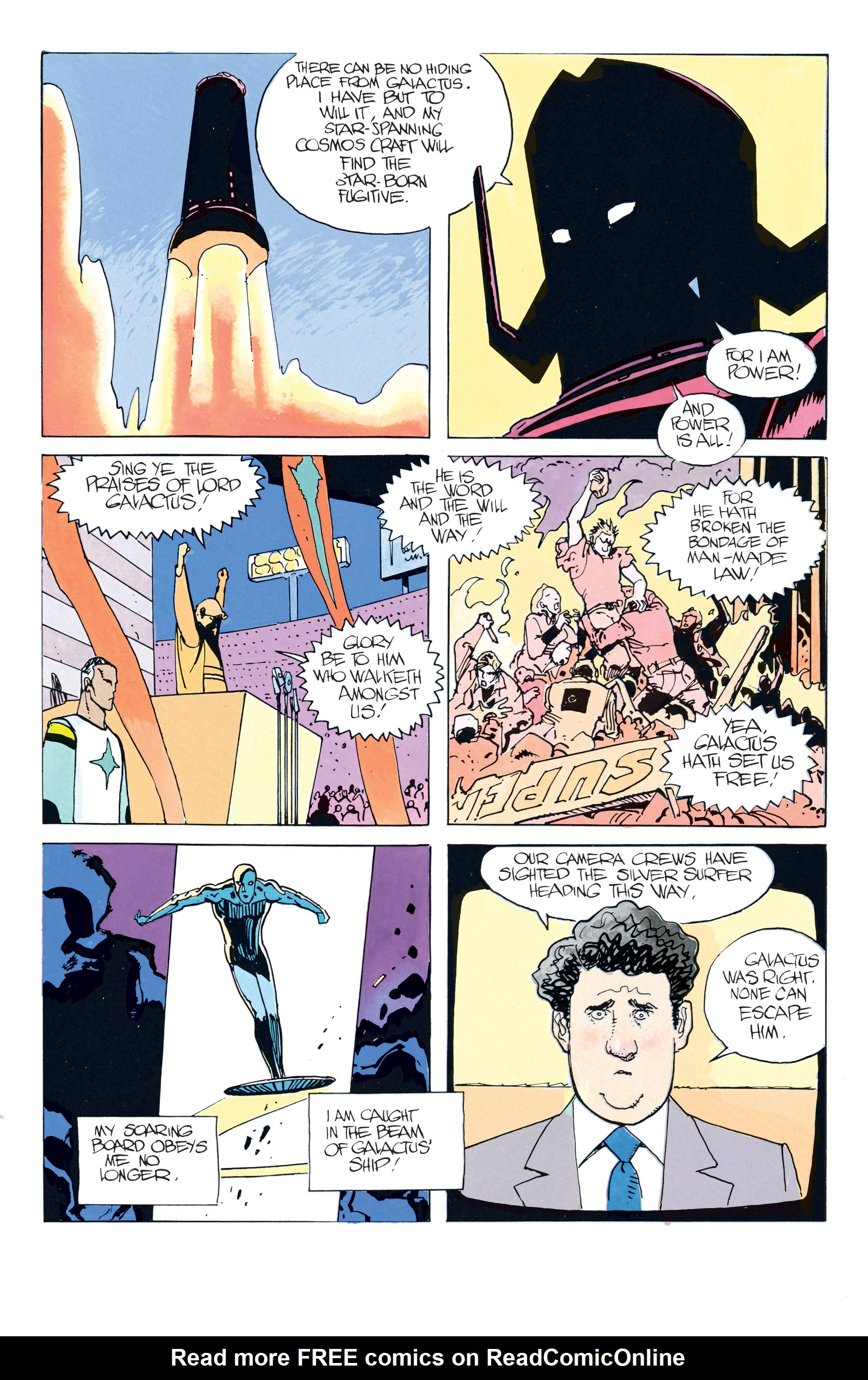 Read online Silver Surfer: Parable comic -  Issue # TPB - 34
