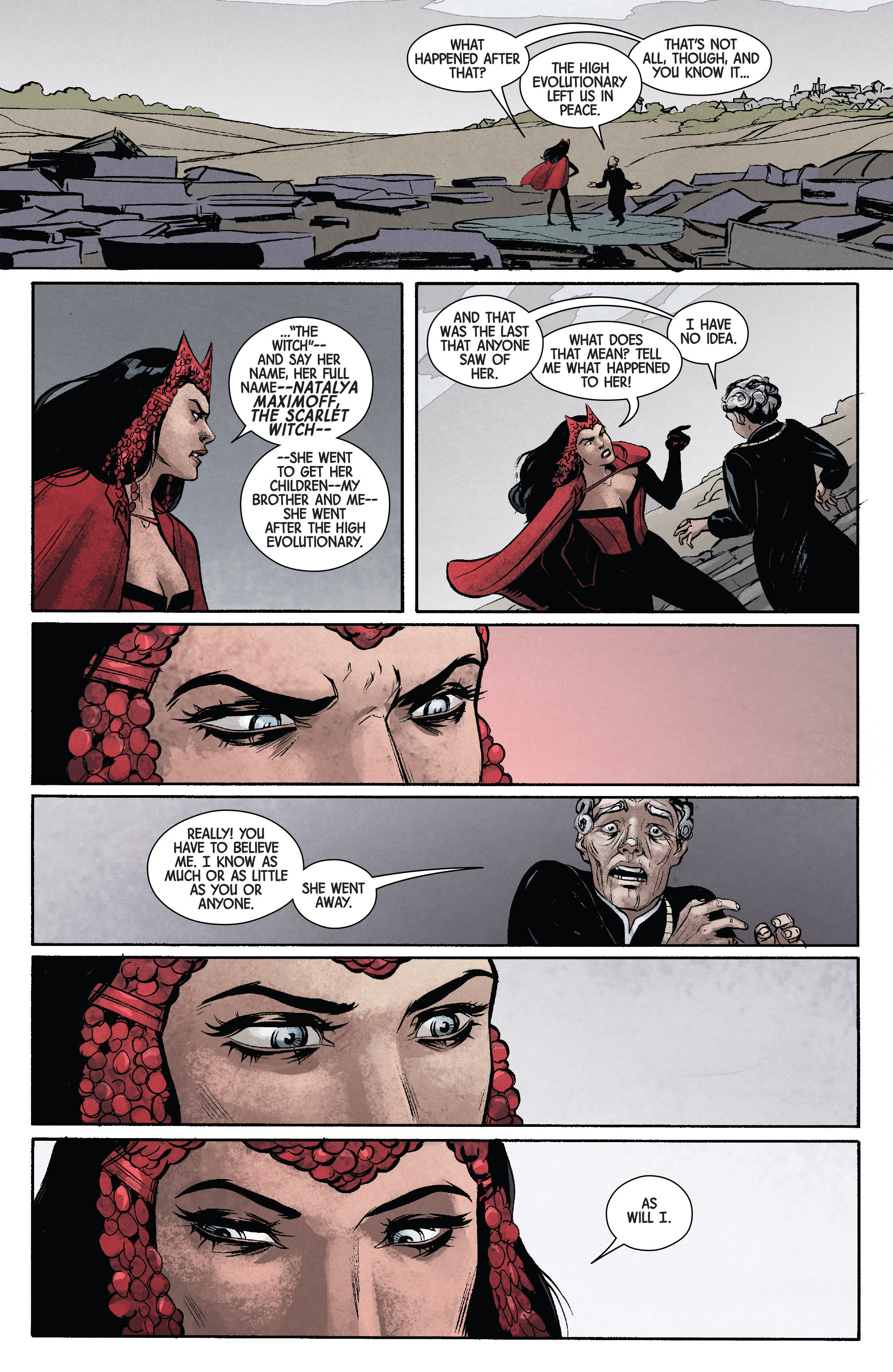Read online Scarlet Witch (2016) comic -  Issue #11 - 11