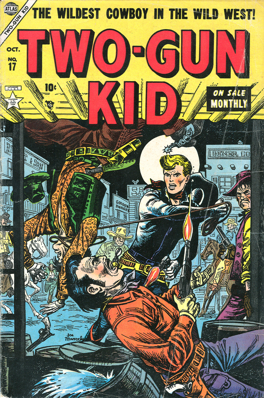 Read online Two-Gun Kid comic -  Issue #17 - 1