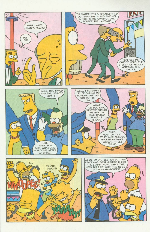 Read online Simpsons Comics comic -  Issue #7 - 22