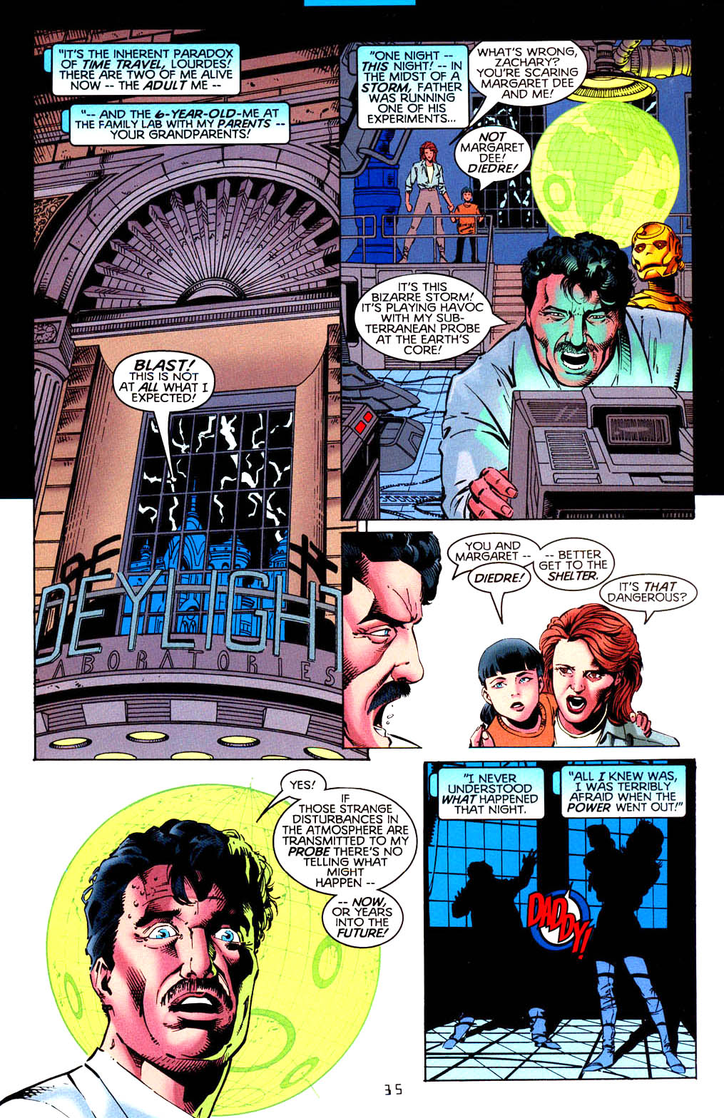 Read online Tangent Comics/ Doom Patrol comic -  Issue # Full - 36