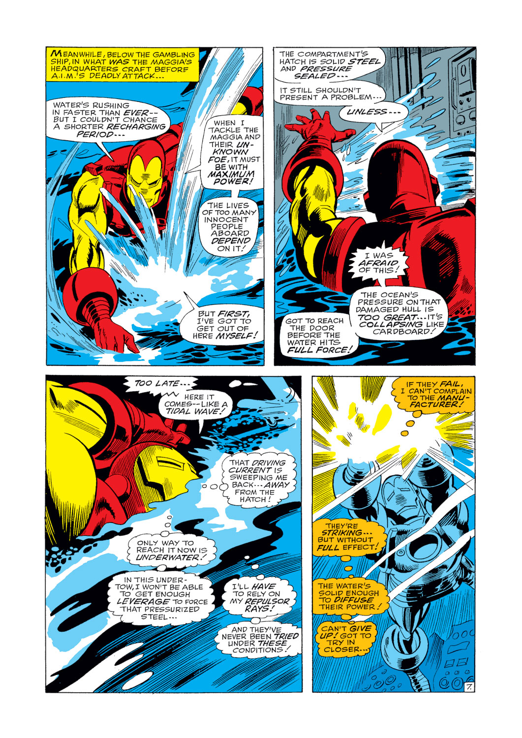 Iron Man and Sub-Mariner issue Full - Page 8