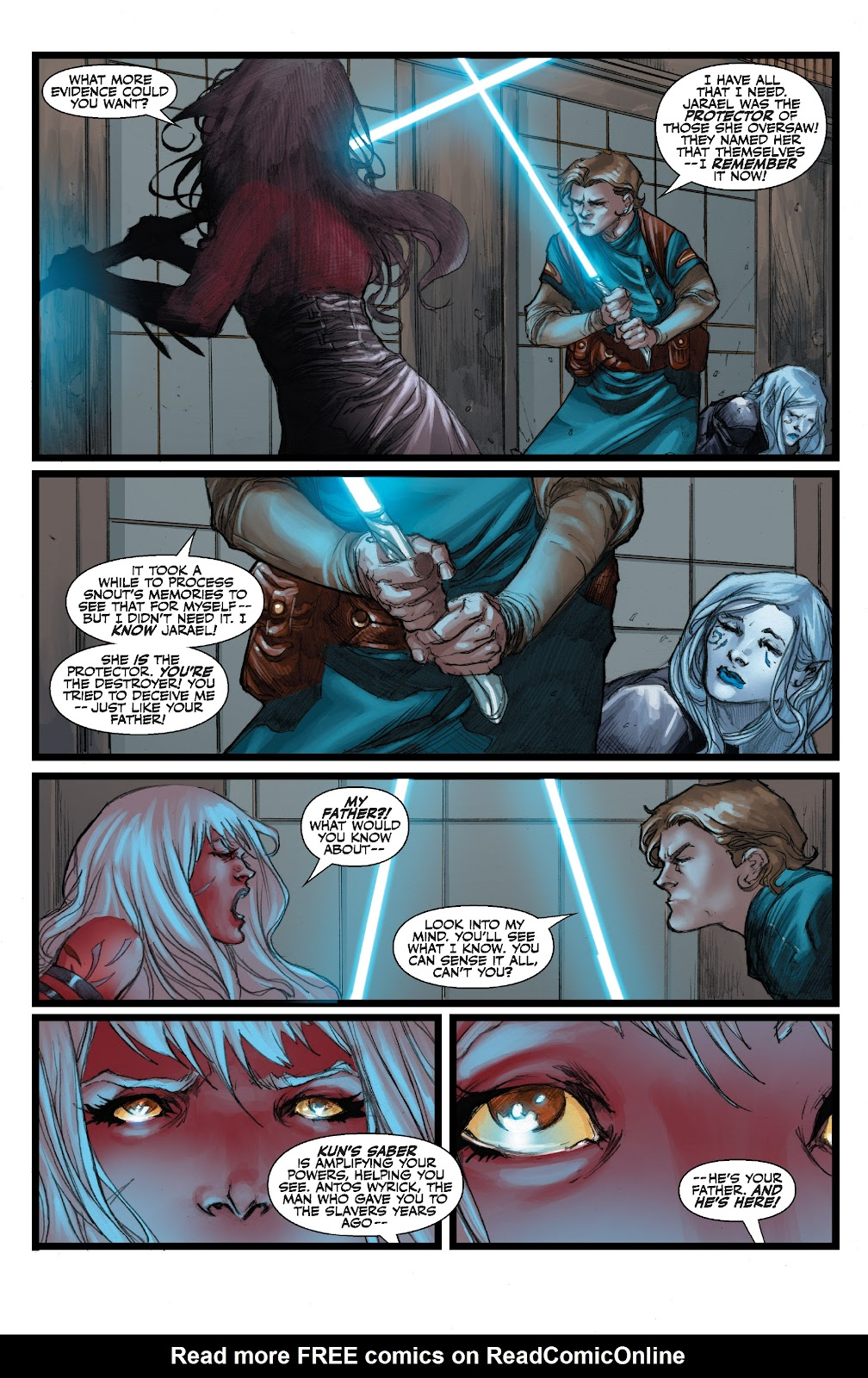 Read online Star Wars Legends: The Old Republic - Epic Collection comic -  Issue # TPB 3 (Part 3) - 83