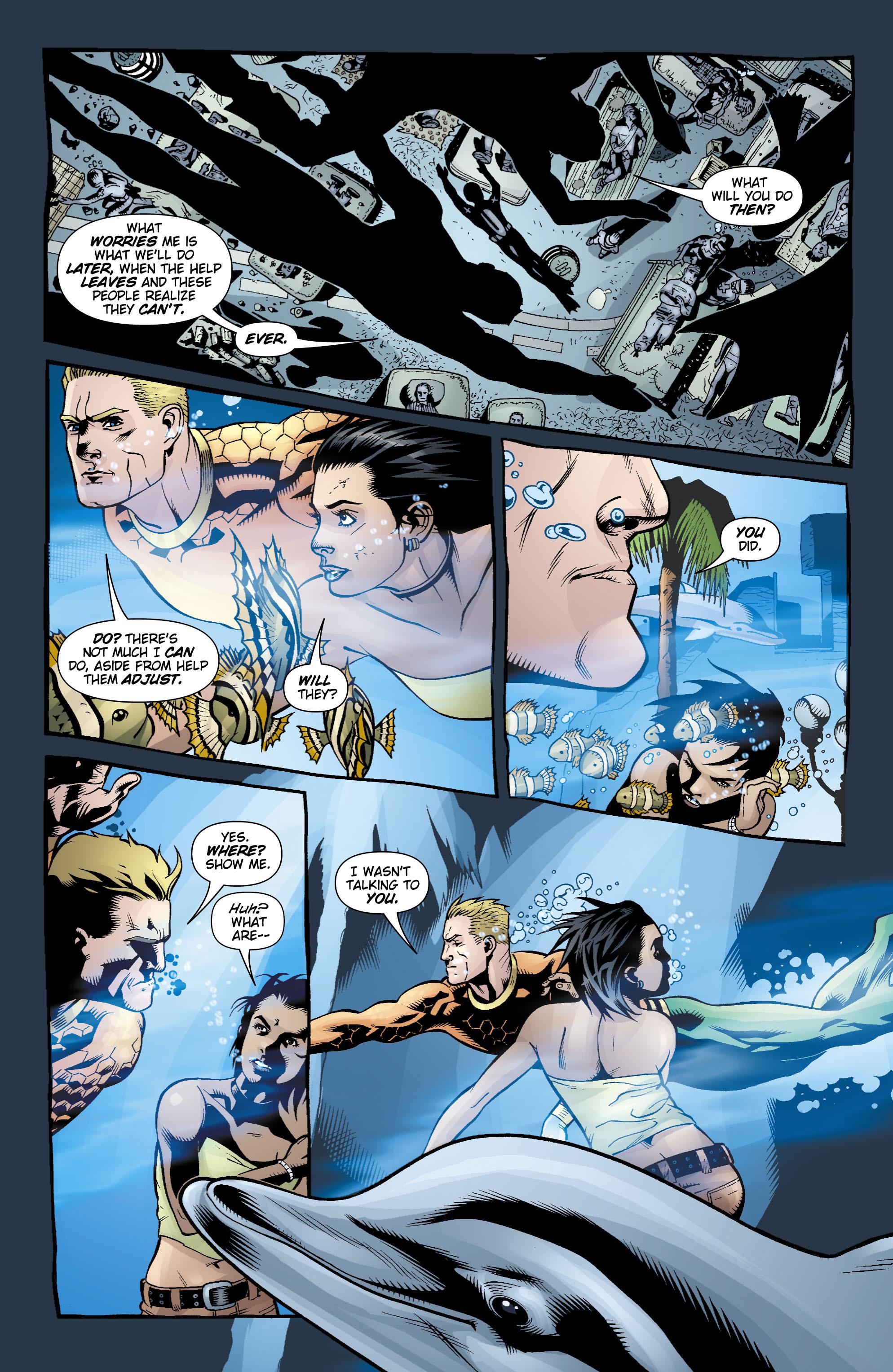 Read online Aquaman (2003) comic -  Issue #17 - 18