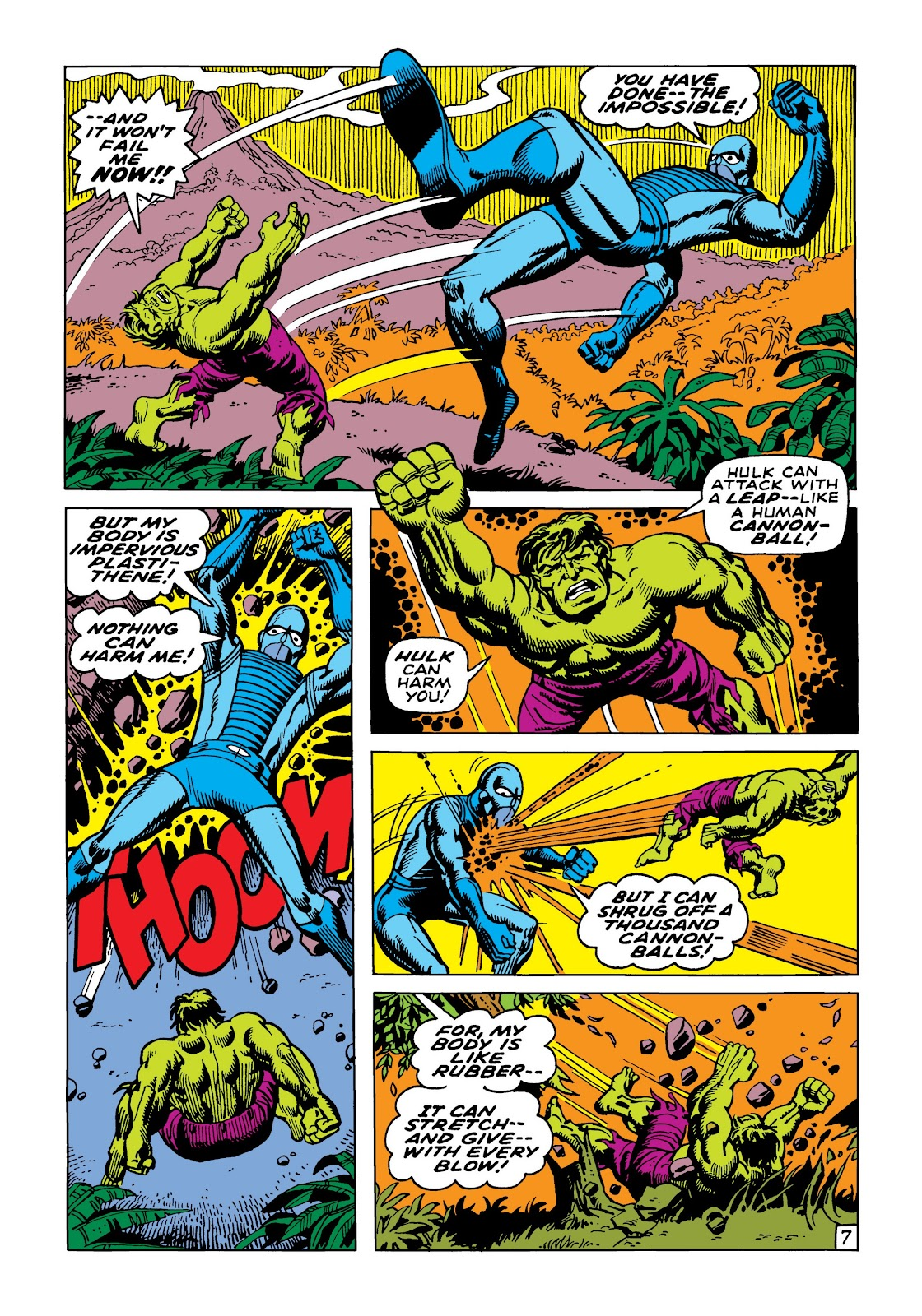 Read online Marvel Masterworks: The Incredible Hulk comic -  Issue # TPB 5 (Part 2) - 39