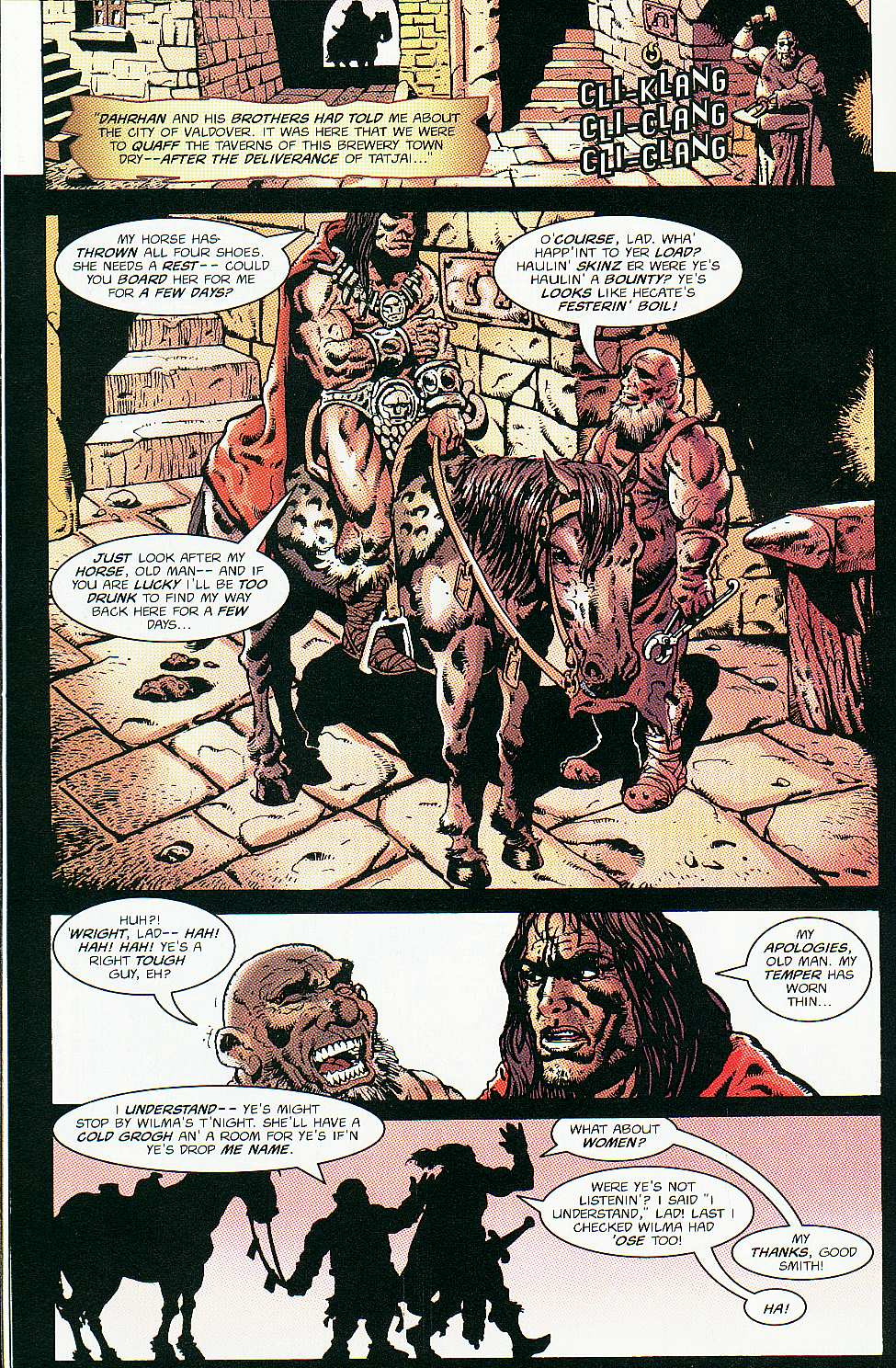 Read online Conan: Return of Styrm comic -  Issue #2 - 19