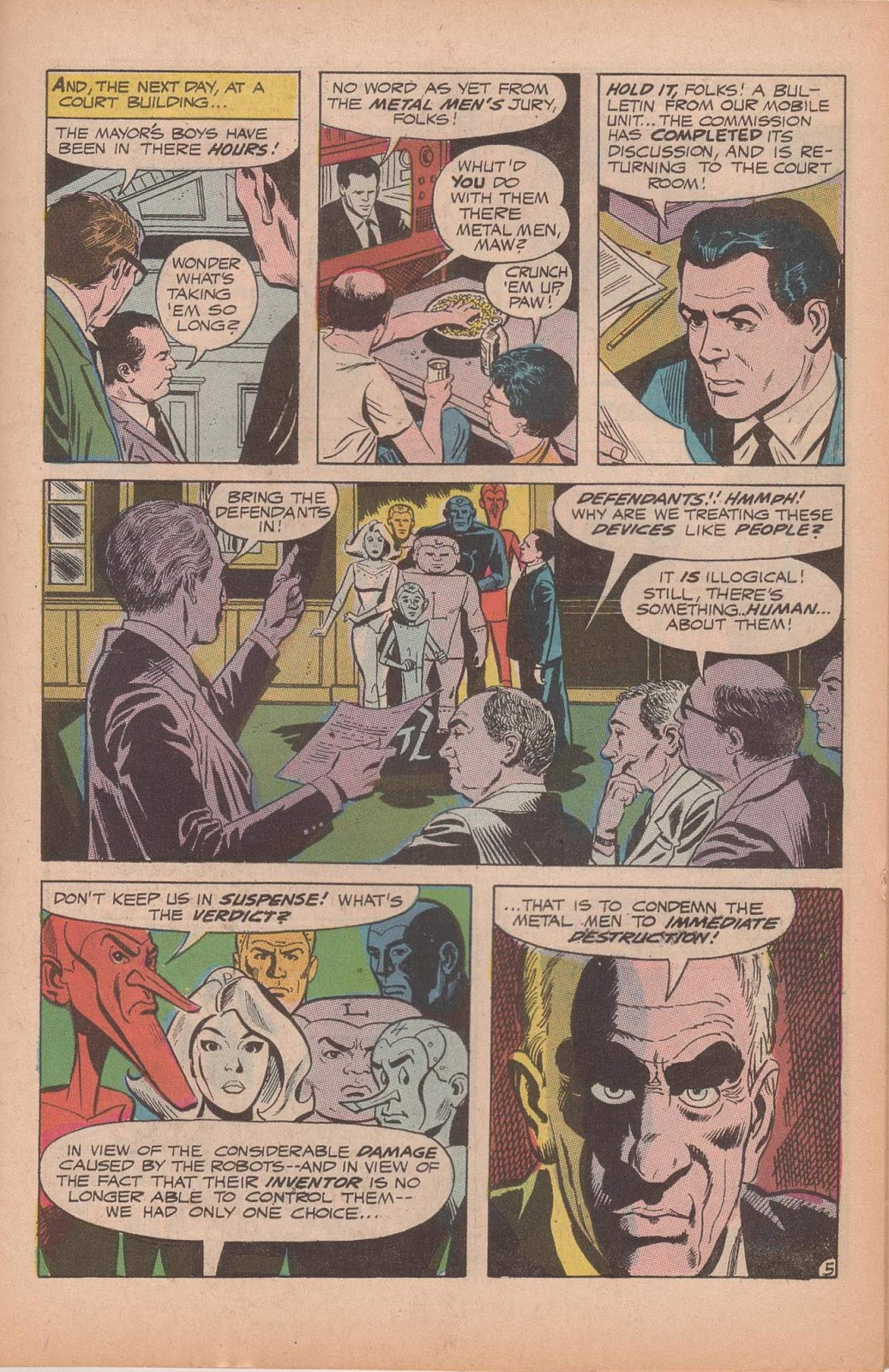 Metal Men (1963) issue 37 - Page 7