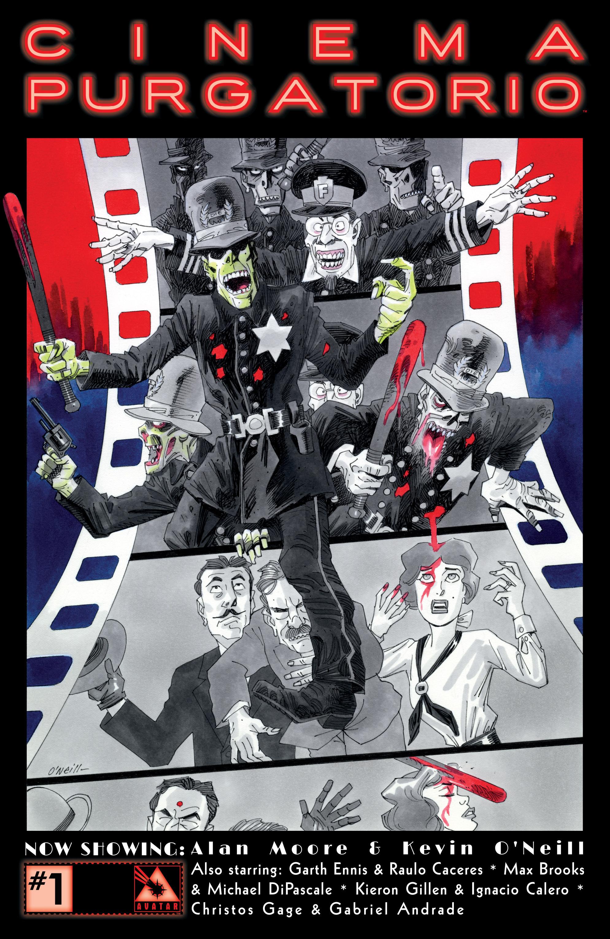 Read online Alan Moore's Cinema Purgatorio comic -  Issue #1 - 1