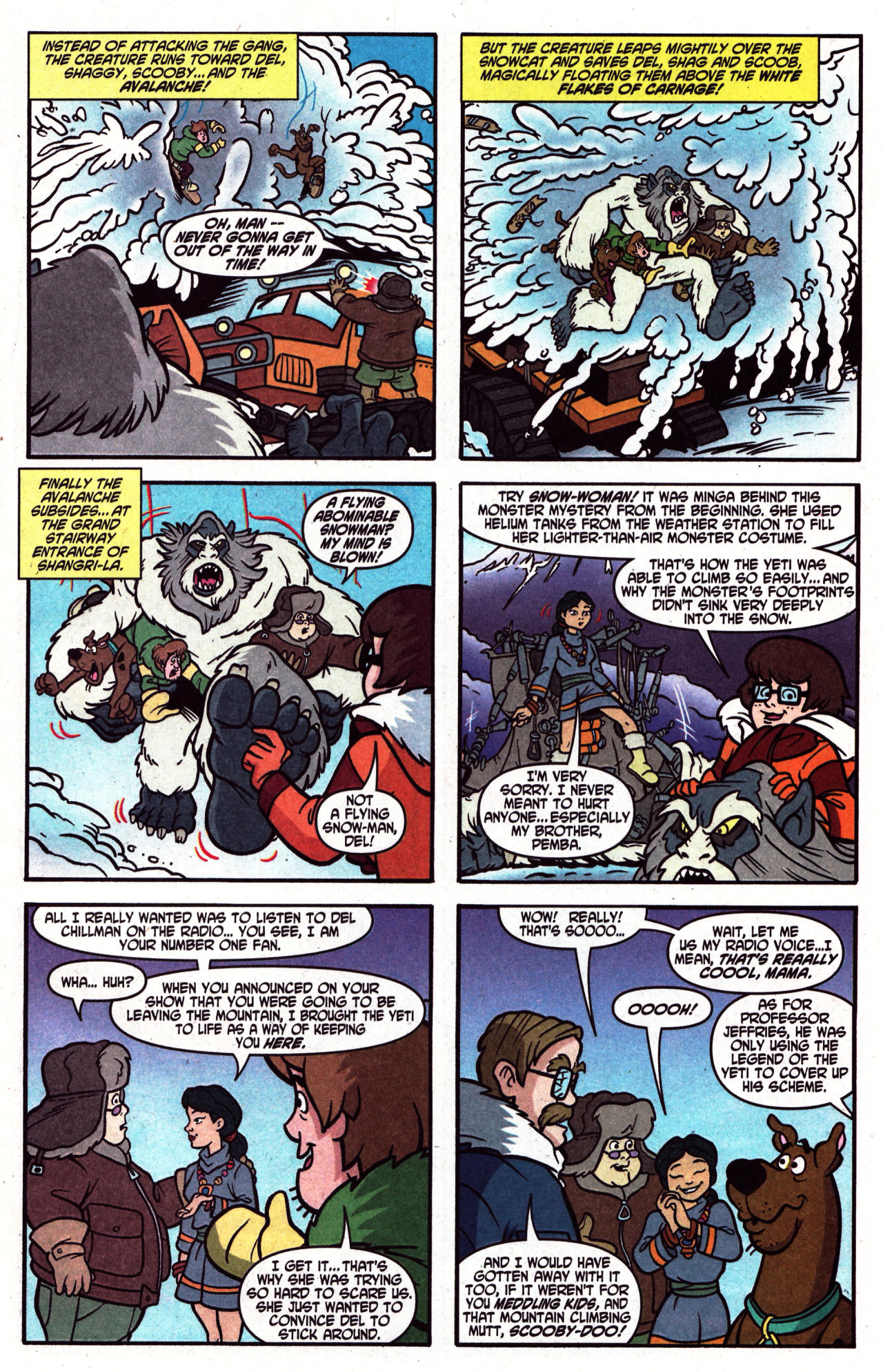 Read online Scooby-Doo (1997) comic -  Issue #124 - 20
