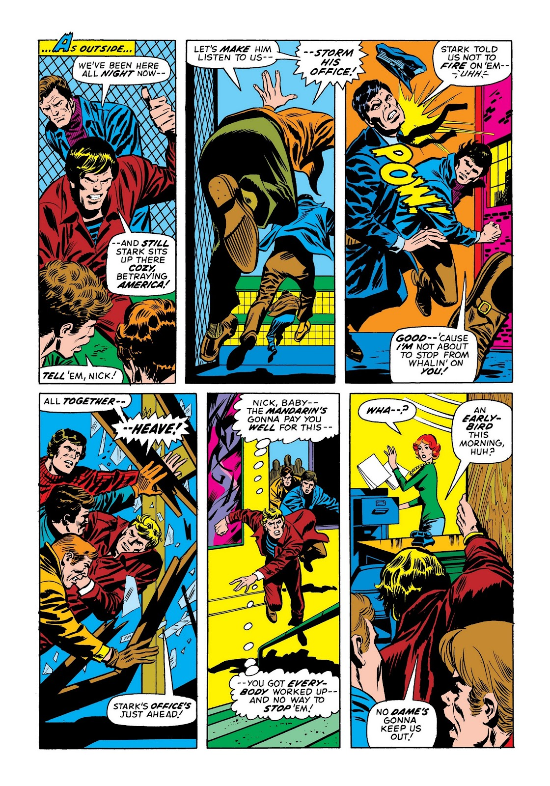 Read online Marvel Masterworks: The Invincible Iron Man comic -  Issue # TPB 9 (Part 2) - 2
