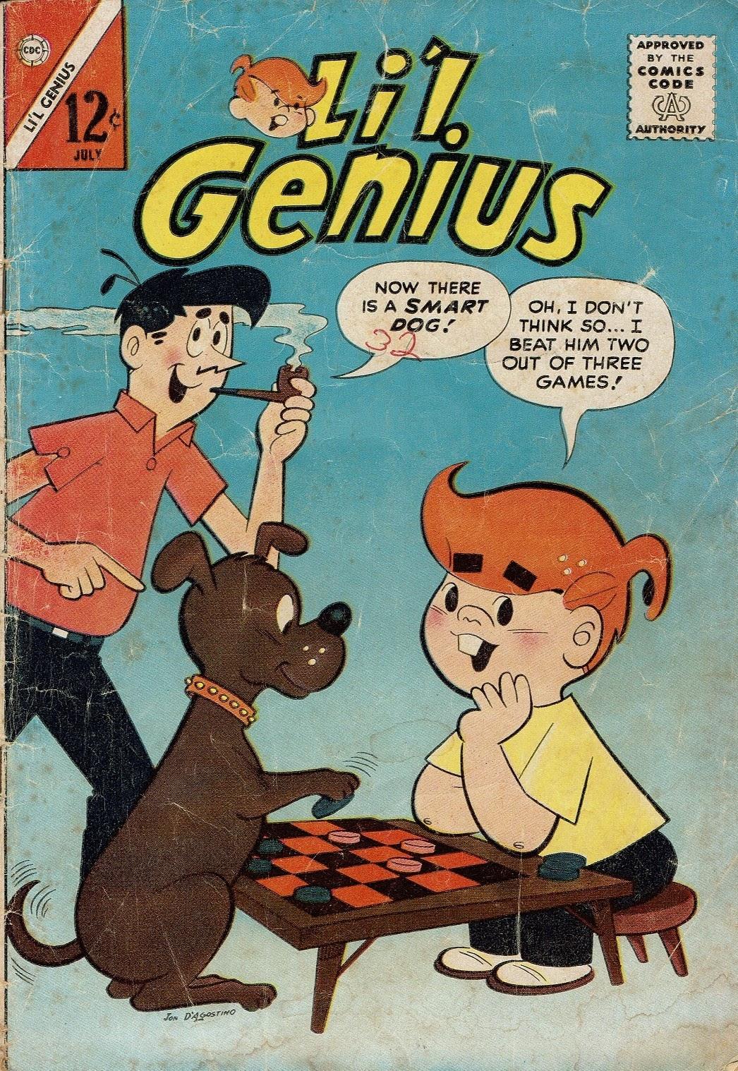 Lil Genius 45 Page 1