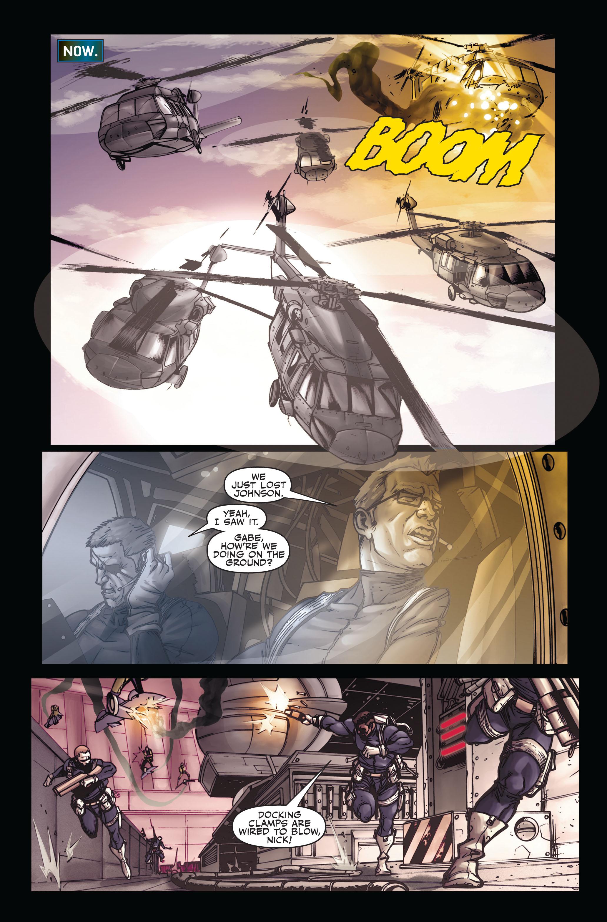 Read online Secret Warriors comic -  Issue #5 - 10