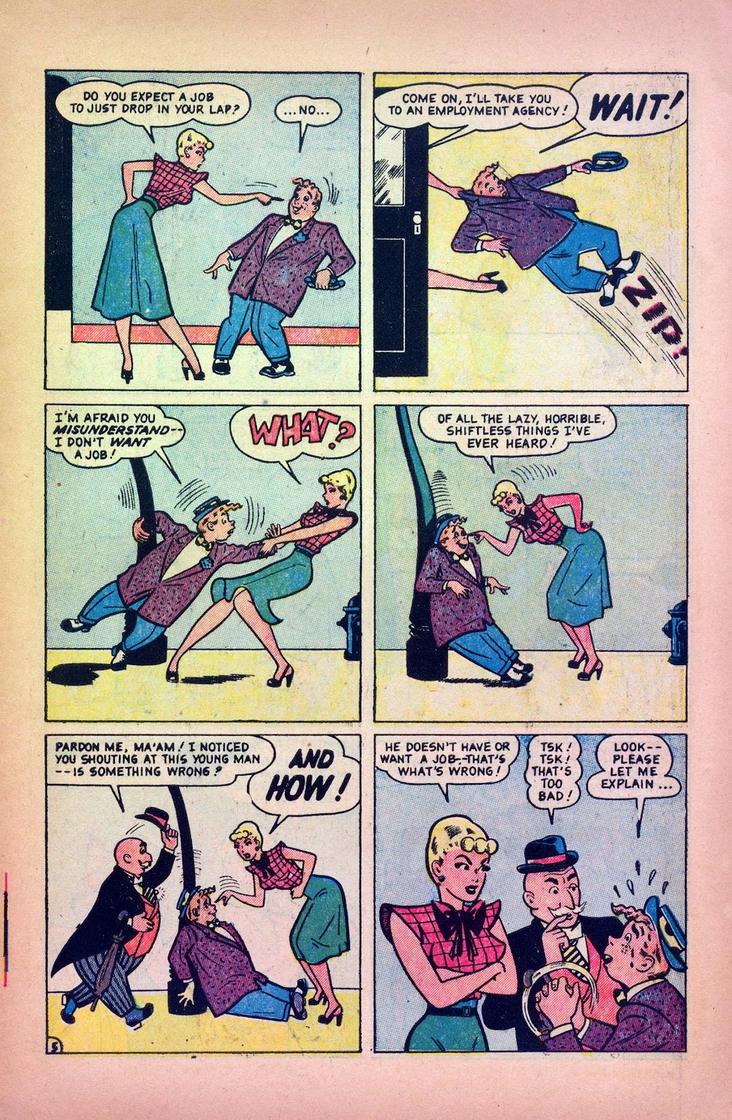 Read online Joker Comics comic -  Issue #38 - 7