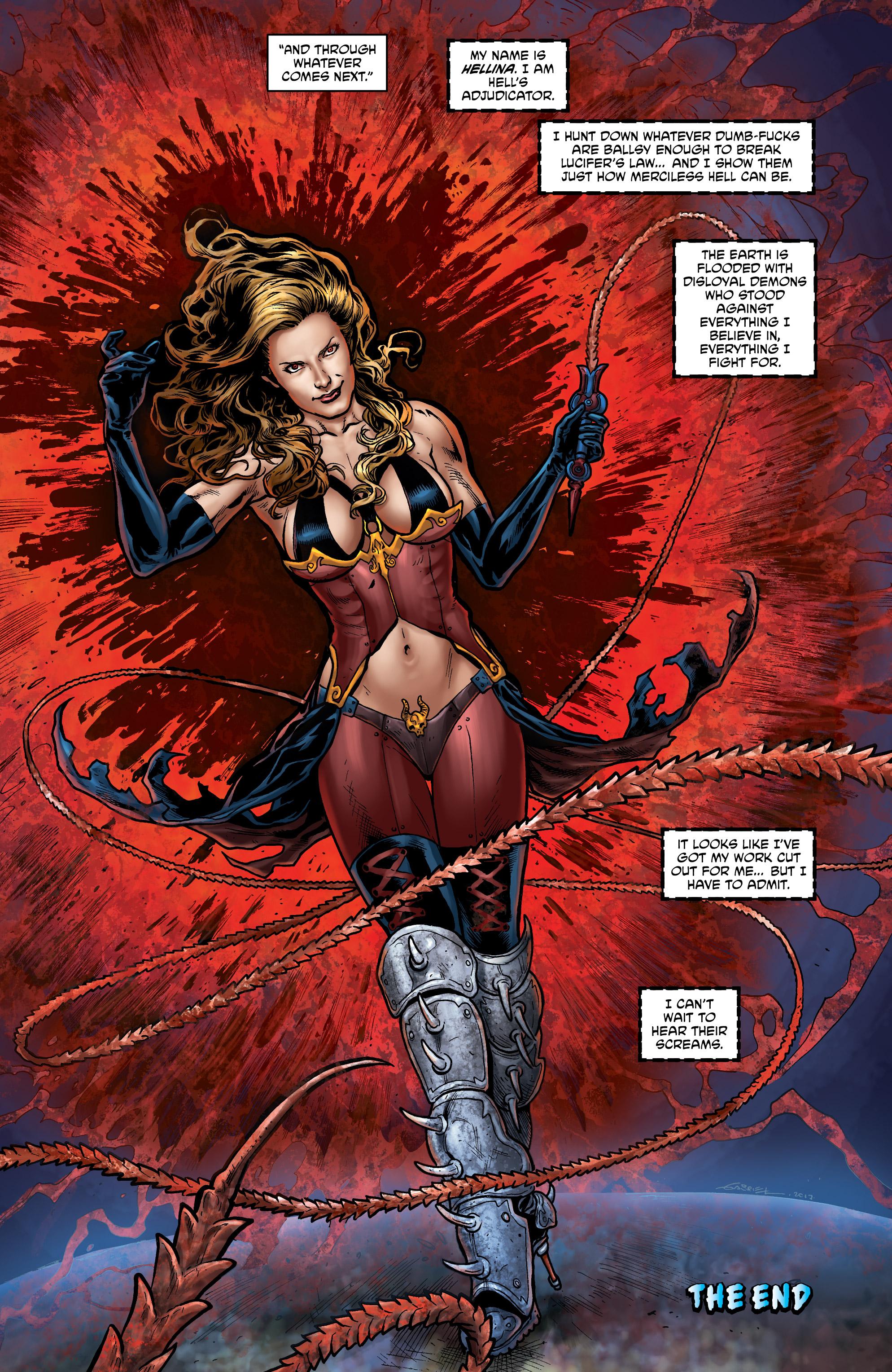 Read online Hellina: Scythe comic -  Issue #4 - 17