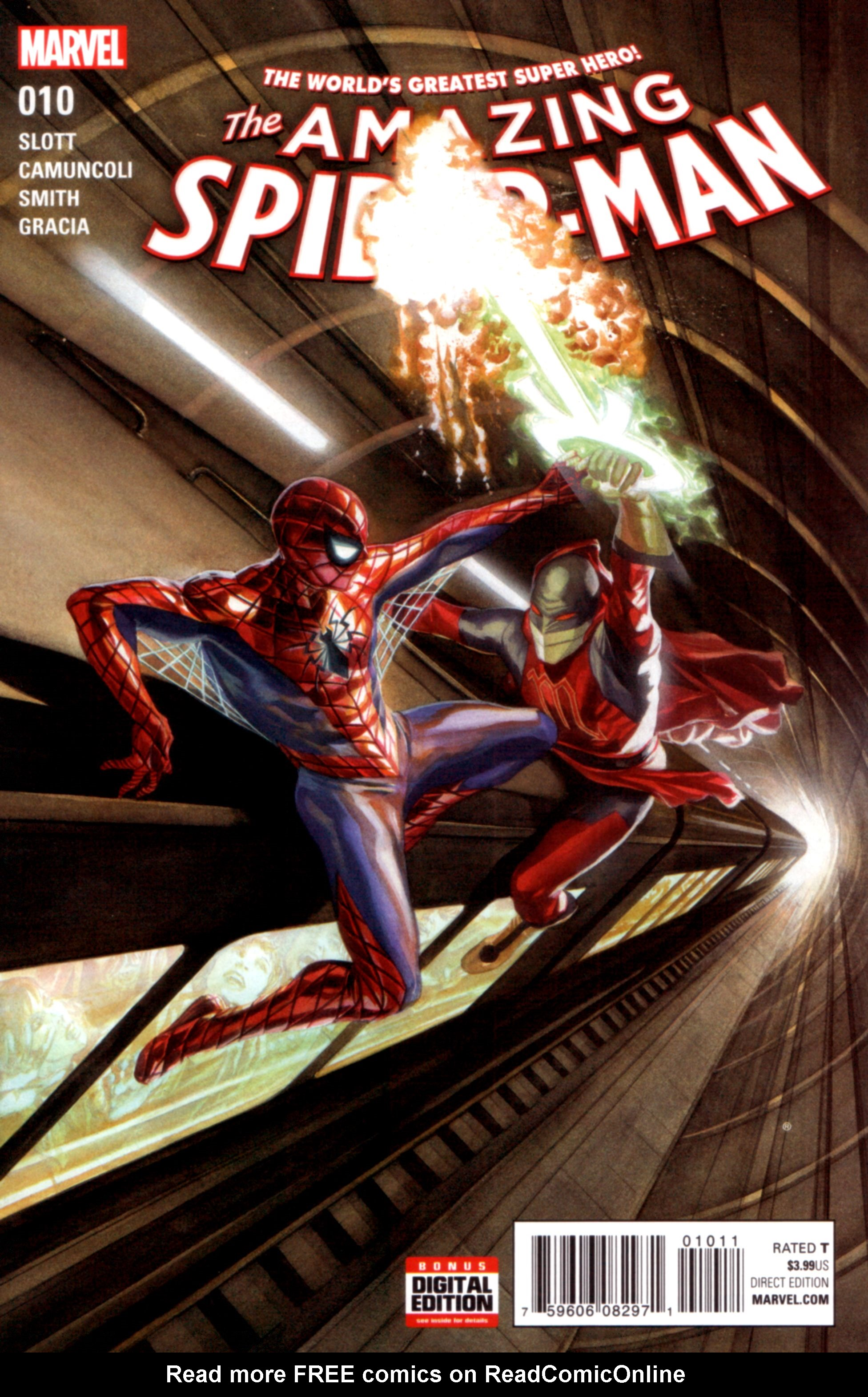 The Amazing Spider-Man (2015) 10 Page 1