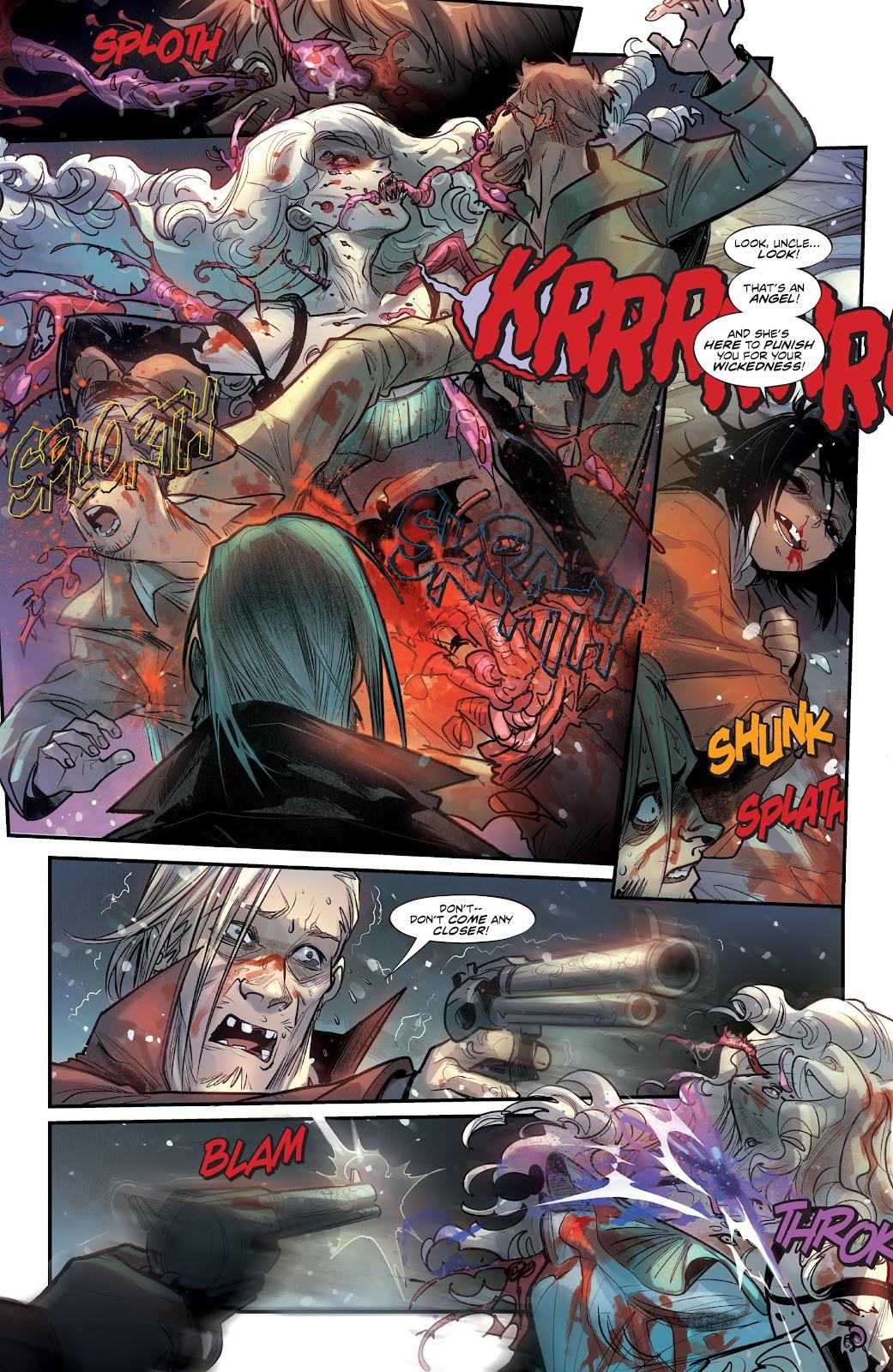 Read online Mirka Andolfo's Mercy comic -  Issue #2 - 24