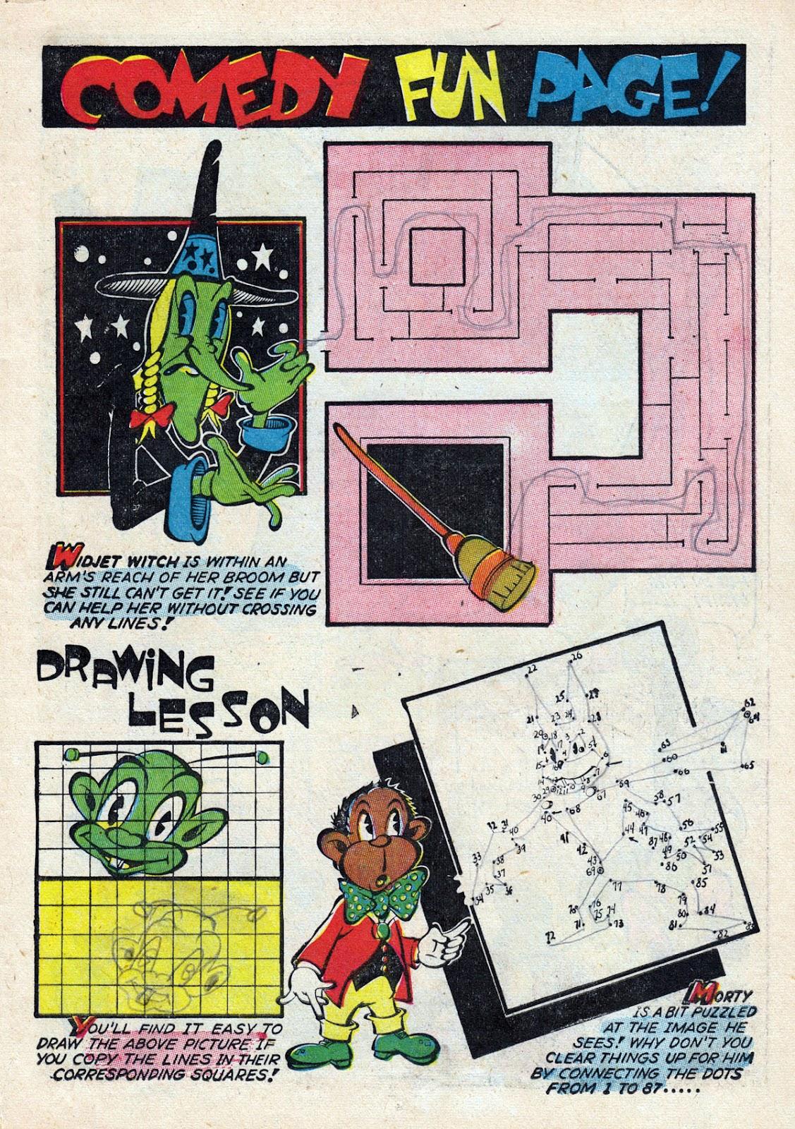 Read online Comedy Comics (1942) comic -  Issue #14 - 19