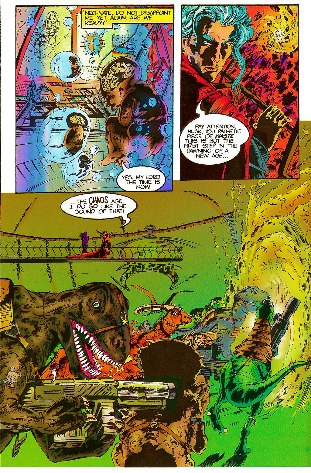 Read online Chains of Chaos comic -  Issue #2 - 8
