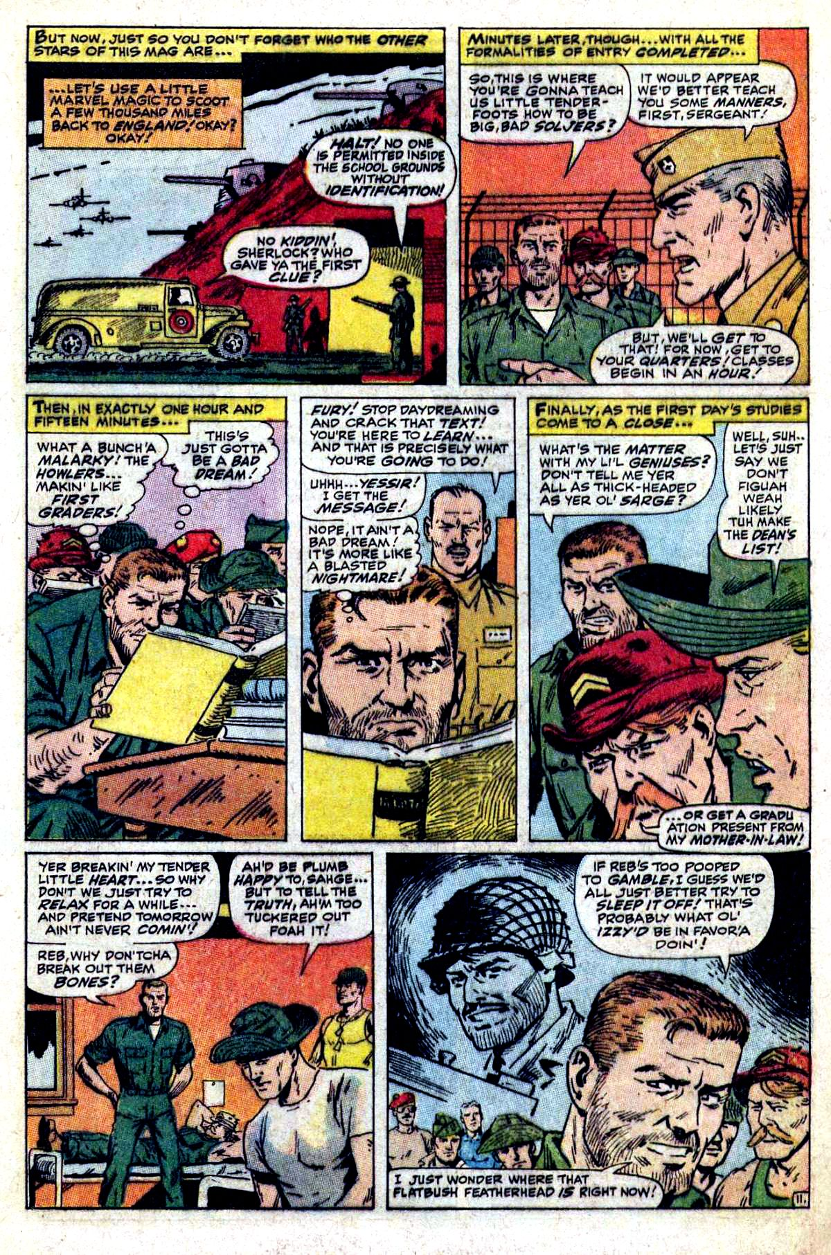 Read online Sgt. Fury comic -  Issue #54 - 17