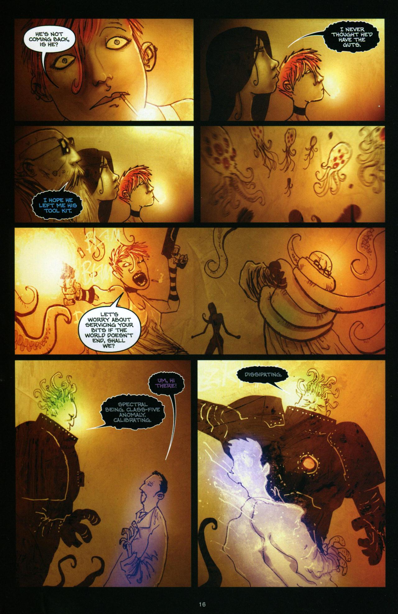 Read online Wormwood: Gentleman Corpse comic -  Issue #10 - 17