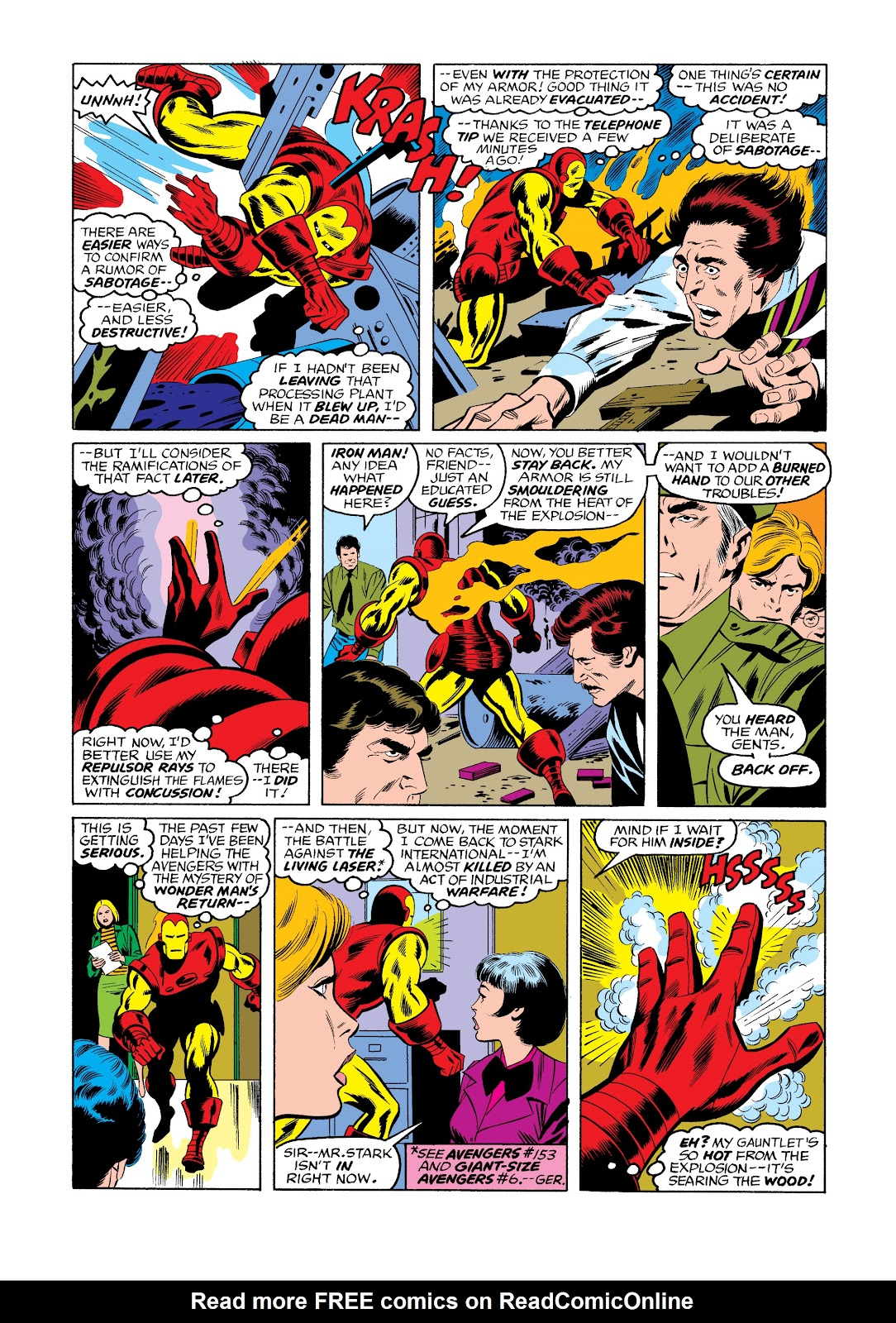 Read online Marvel Masterworks: The Invincible Iron Man comic -  Issue # TPB 11 (Part 3) - 31