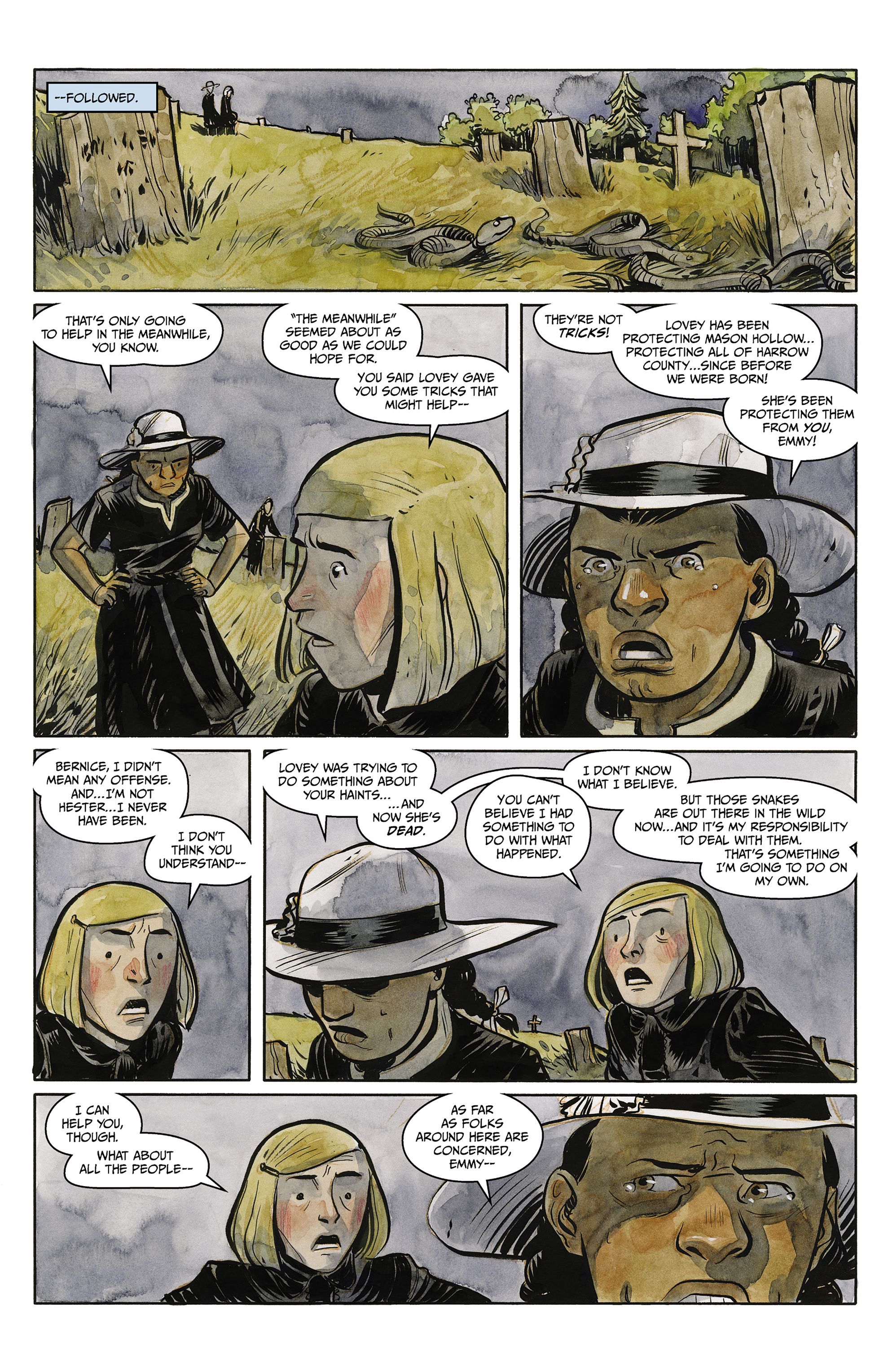Read online Harrow County comic -  Issue #23 - 12
