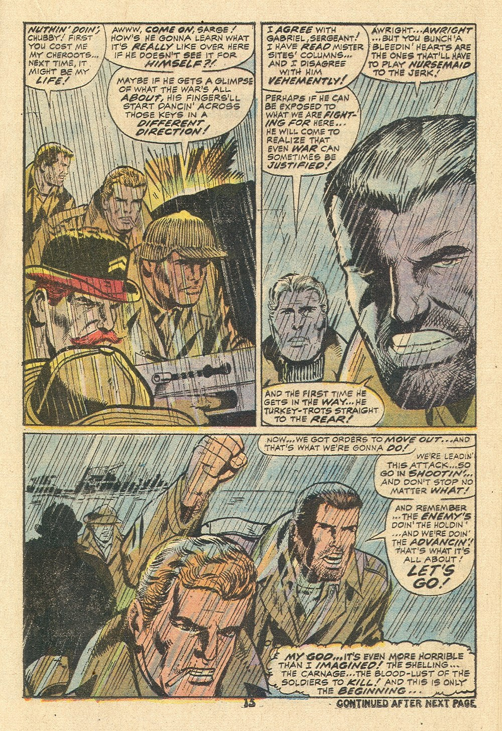 Read online Sgt. Fury comic -  Issue #110 - 17