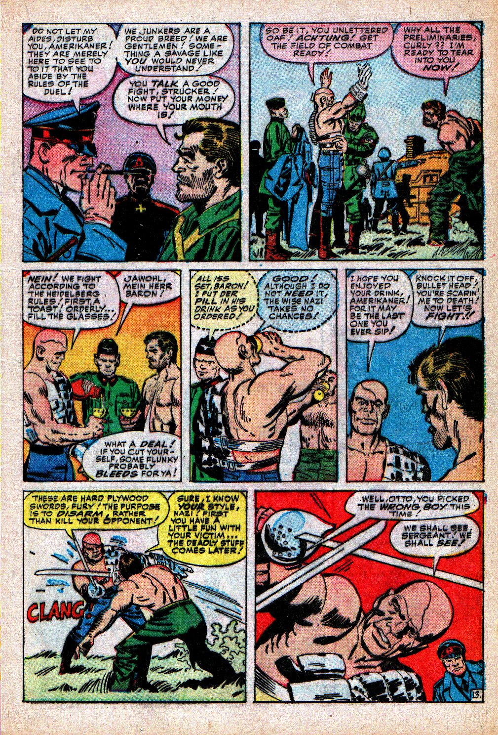 Read online Sgt. Fury comic -  Issue #5 - 17