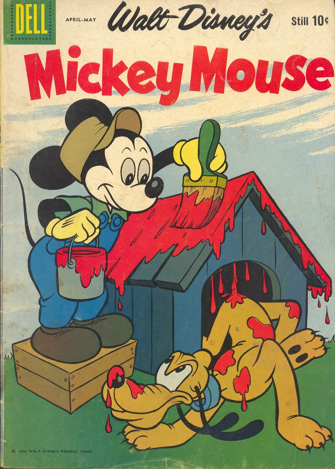 Walt Disney's Mickey Mouse issue 65 - Page 1