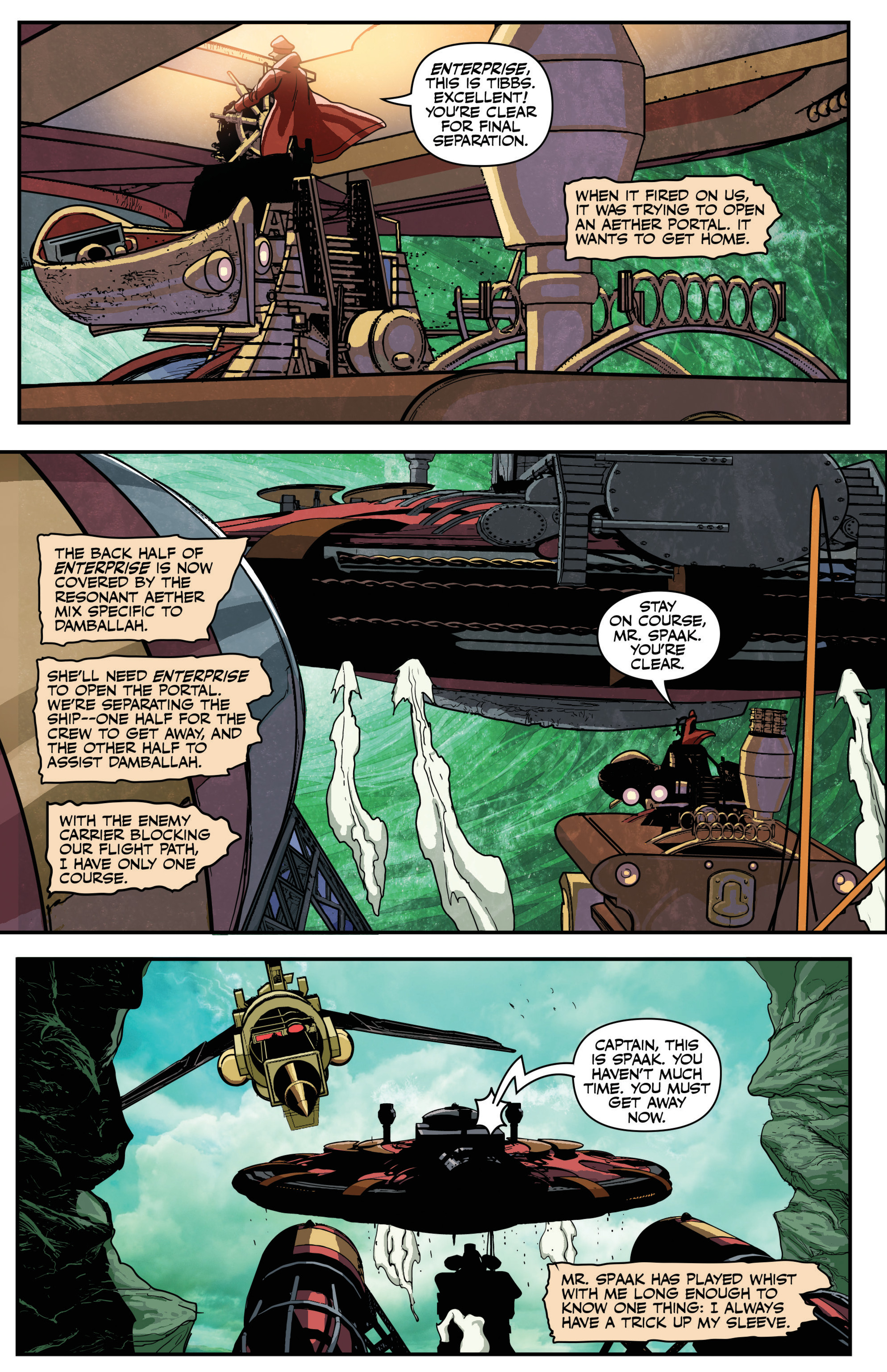 Read online Airship Enterprise: The Infernal Machine comic -  Issue #4 - 9